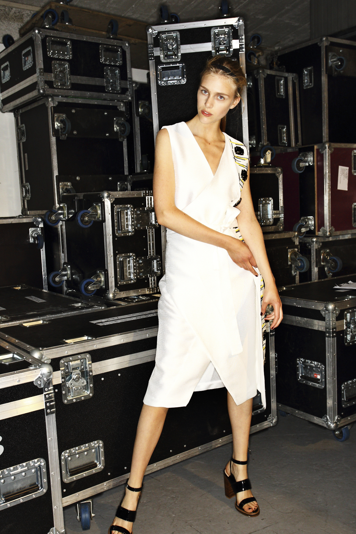 Altewai Saome SS15 Fashion Show Stockholm Backstage