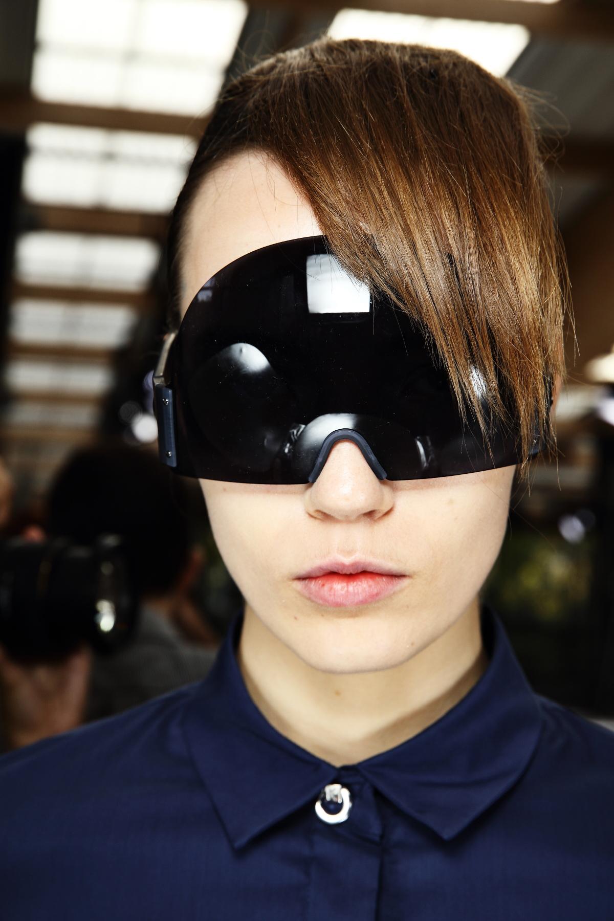 Kenzo SS15 Fashion Show Paris Backstage