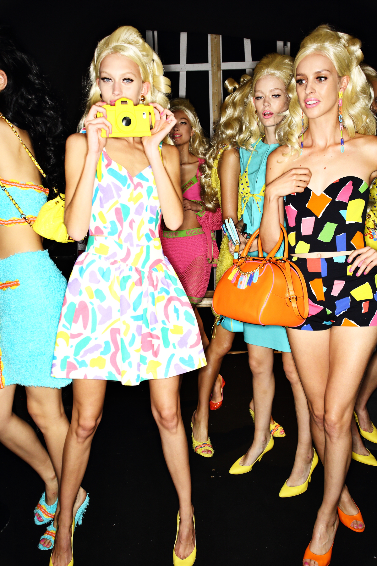 Moschino SS15 Fashion Show Milan Backstage