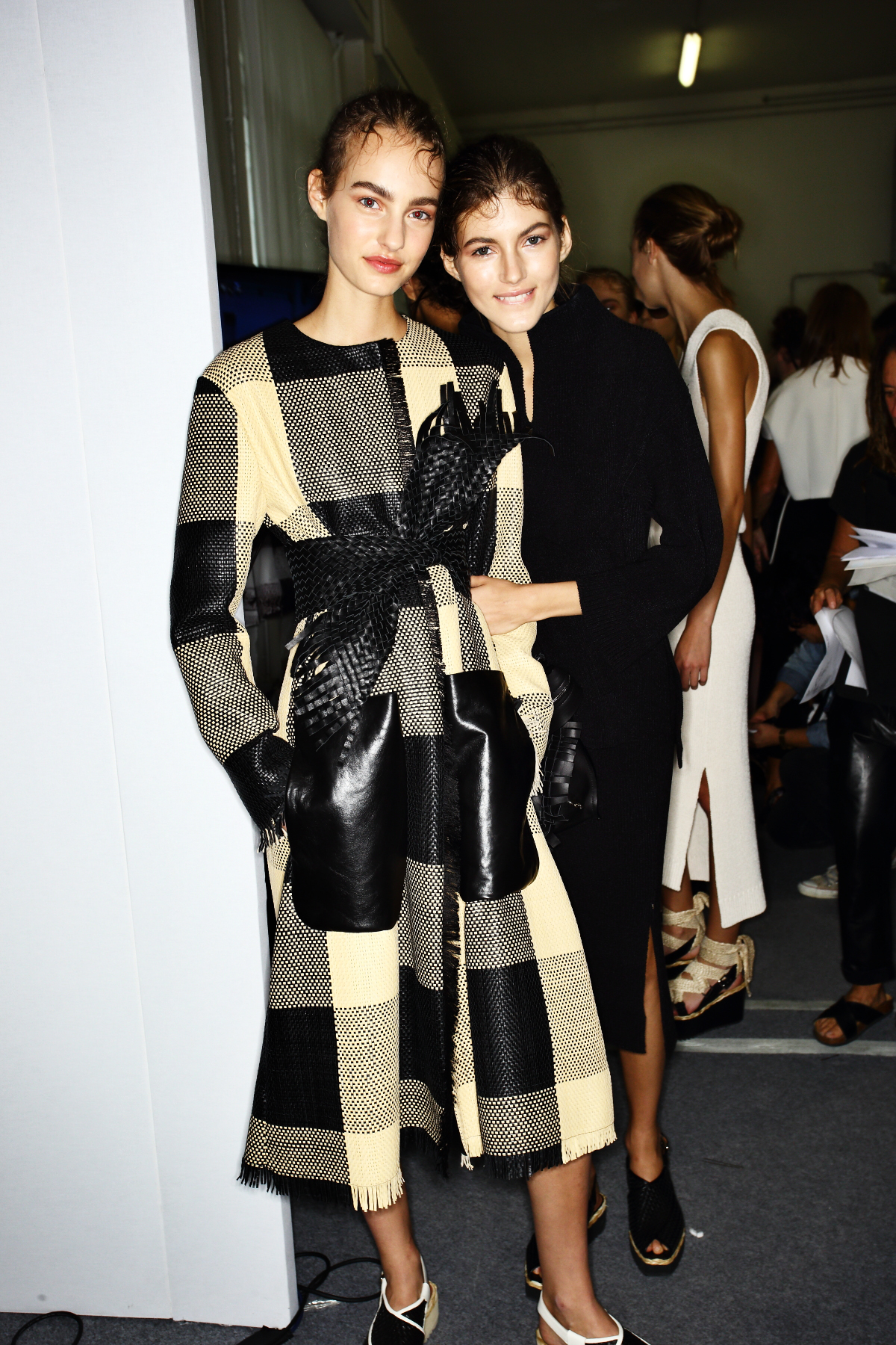 Sportmax SS15 Fashion Show Milan Backstage