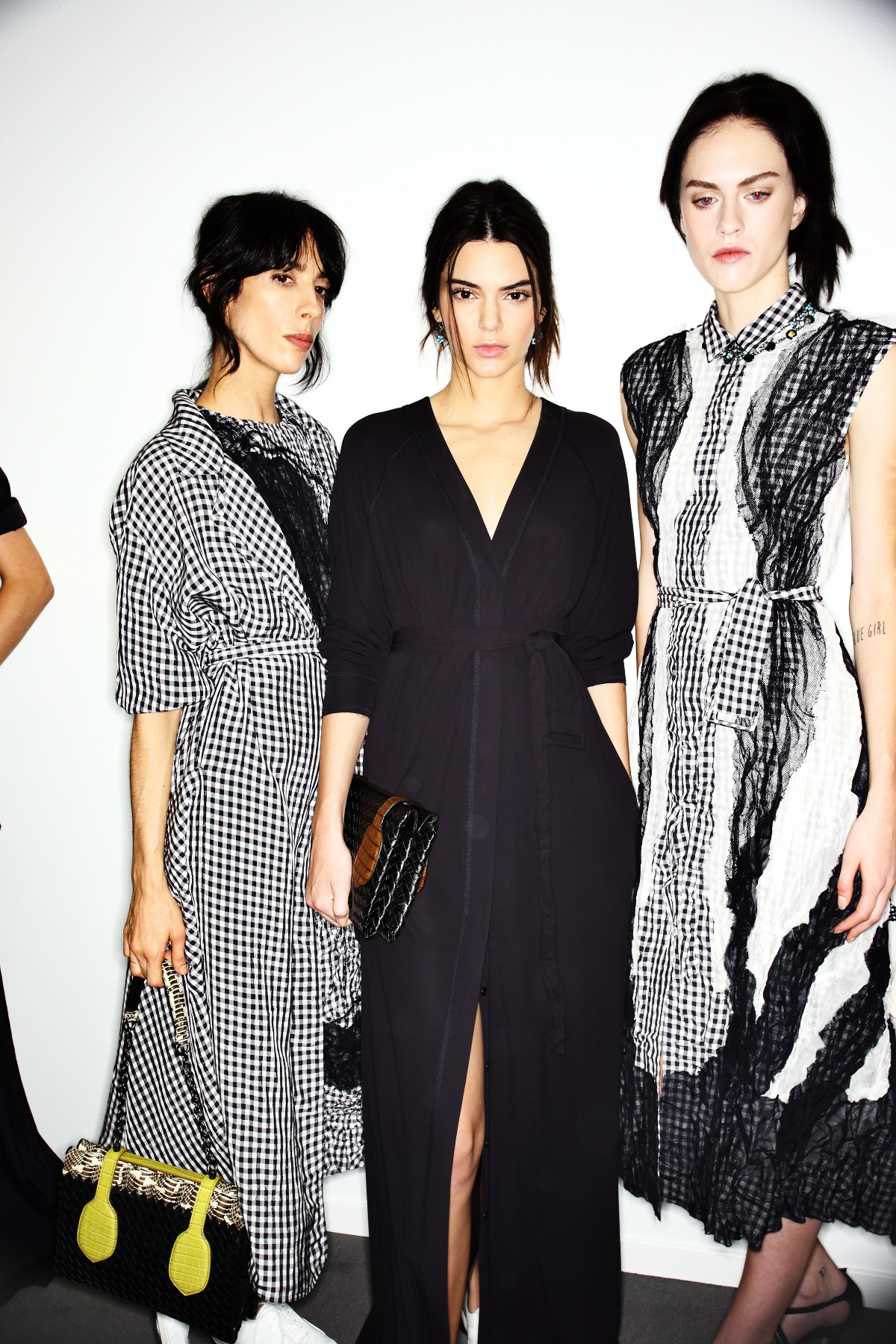 Bottega Veneta SS15 Fashion Show Milan Backstage