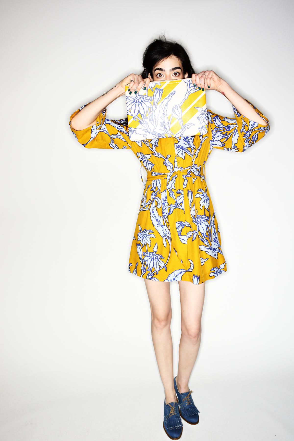 Karen Walker SS15 Fashion Show New York Backstage