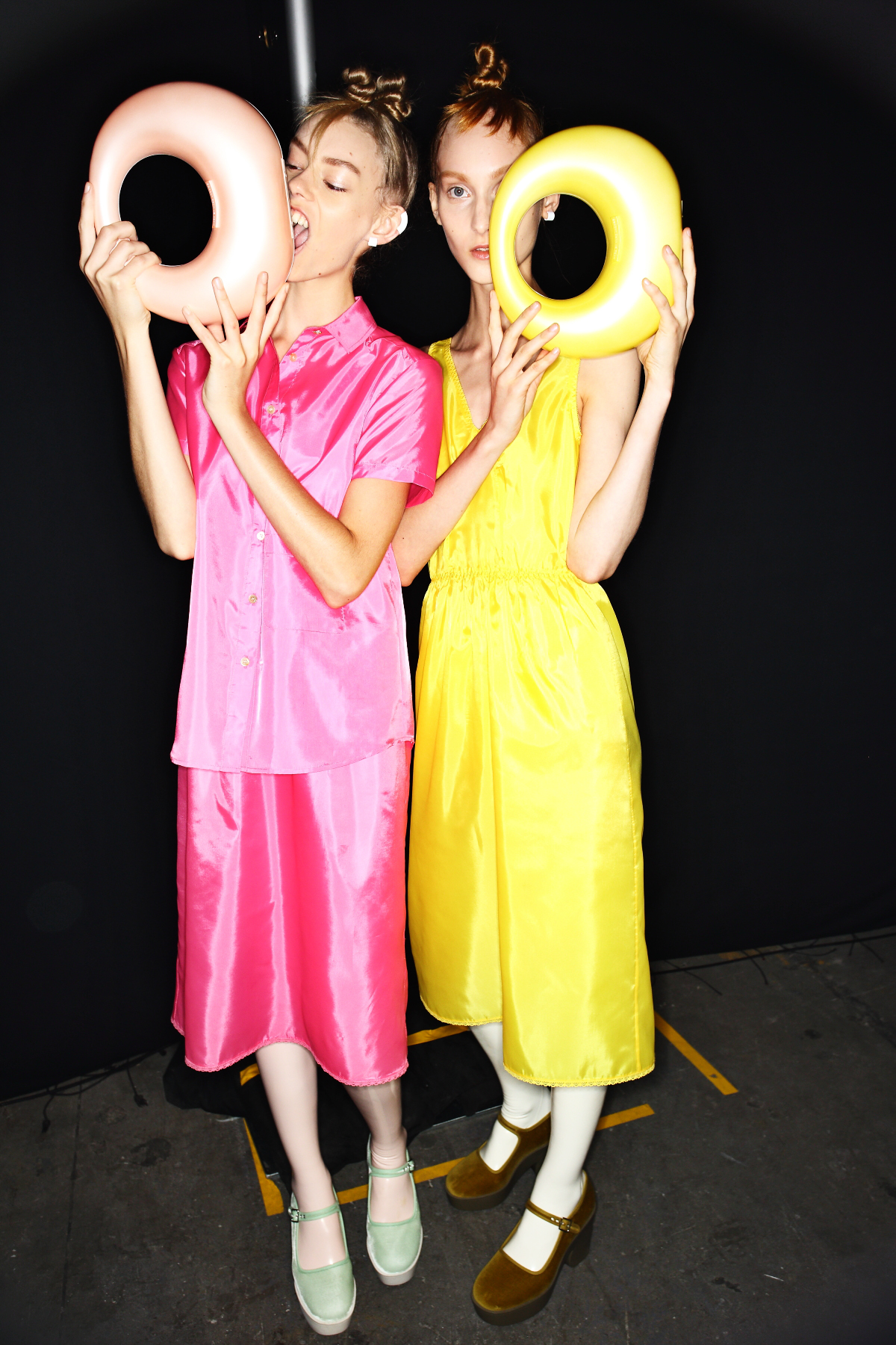 Marc by Marc Jacobs SS15 Fashion Show New York Backstage