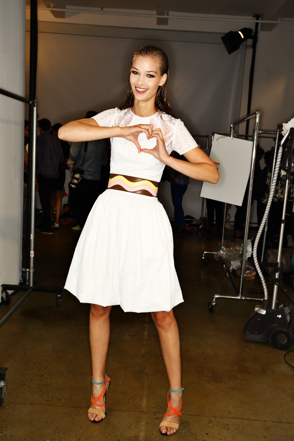 Sophie Theallet SS15 Fashion Show New York Backstage