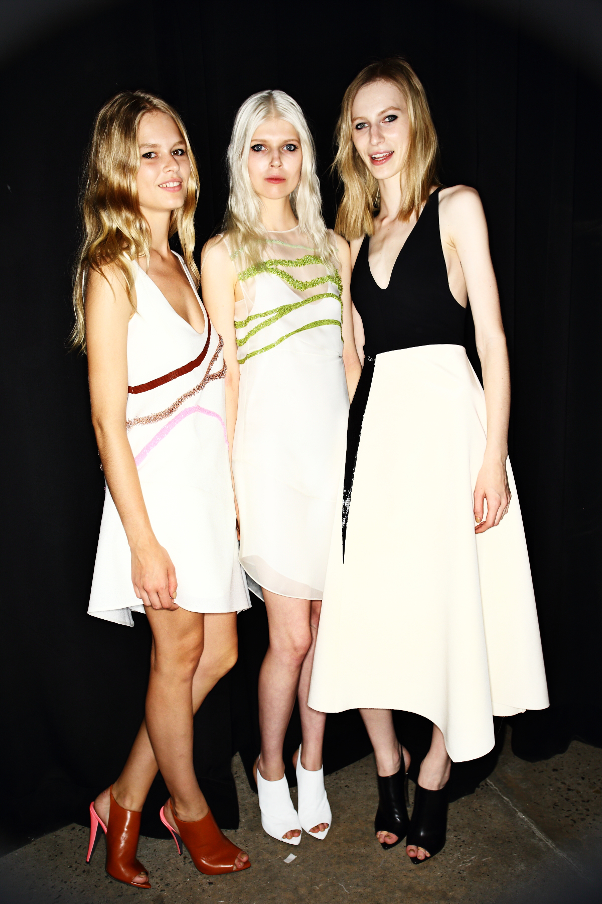 Narciso Rodriguez SS15 Fashion Show New York Backstage
