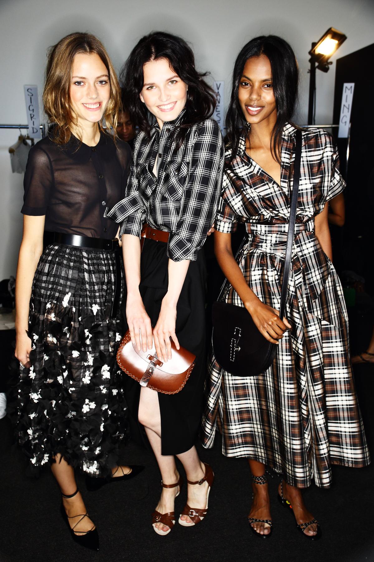 Michael Kors SS15 Fashion Show New York Backstage