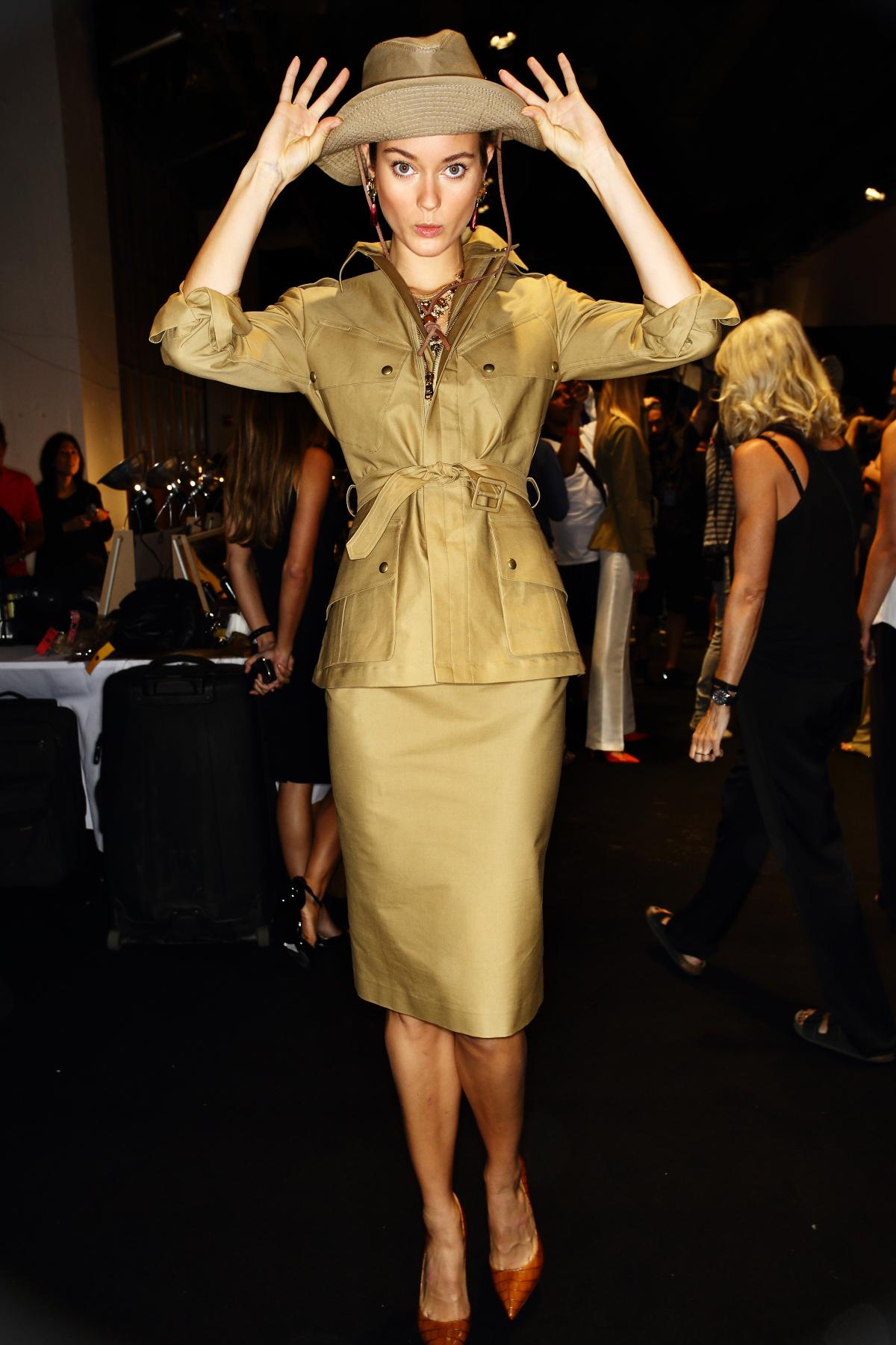 Ralph Lauren SS15 Fashion Show New York Backstage