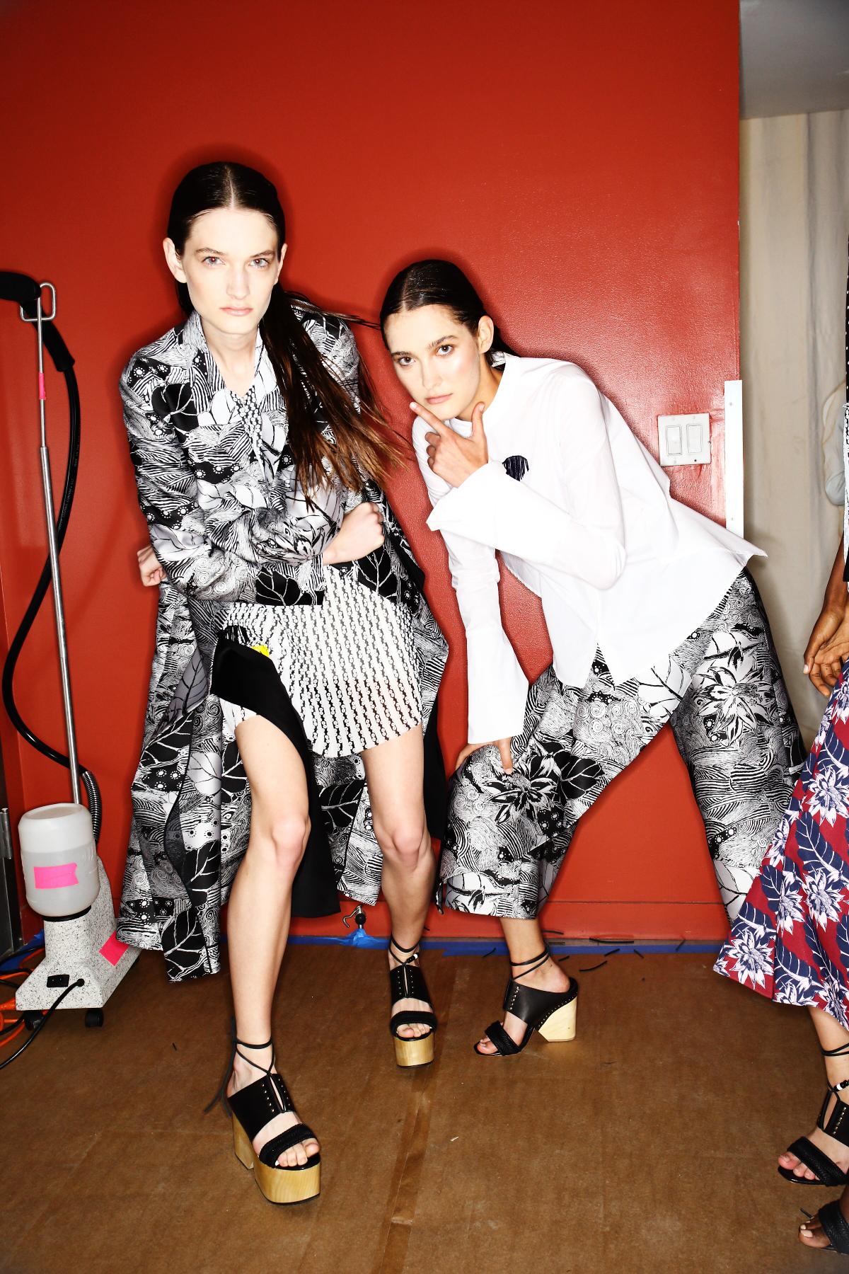 Thakoon SS15 Fashion Show New York Backstage