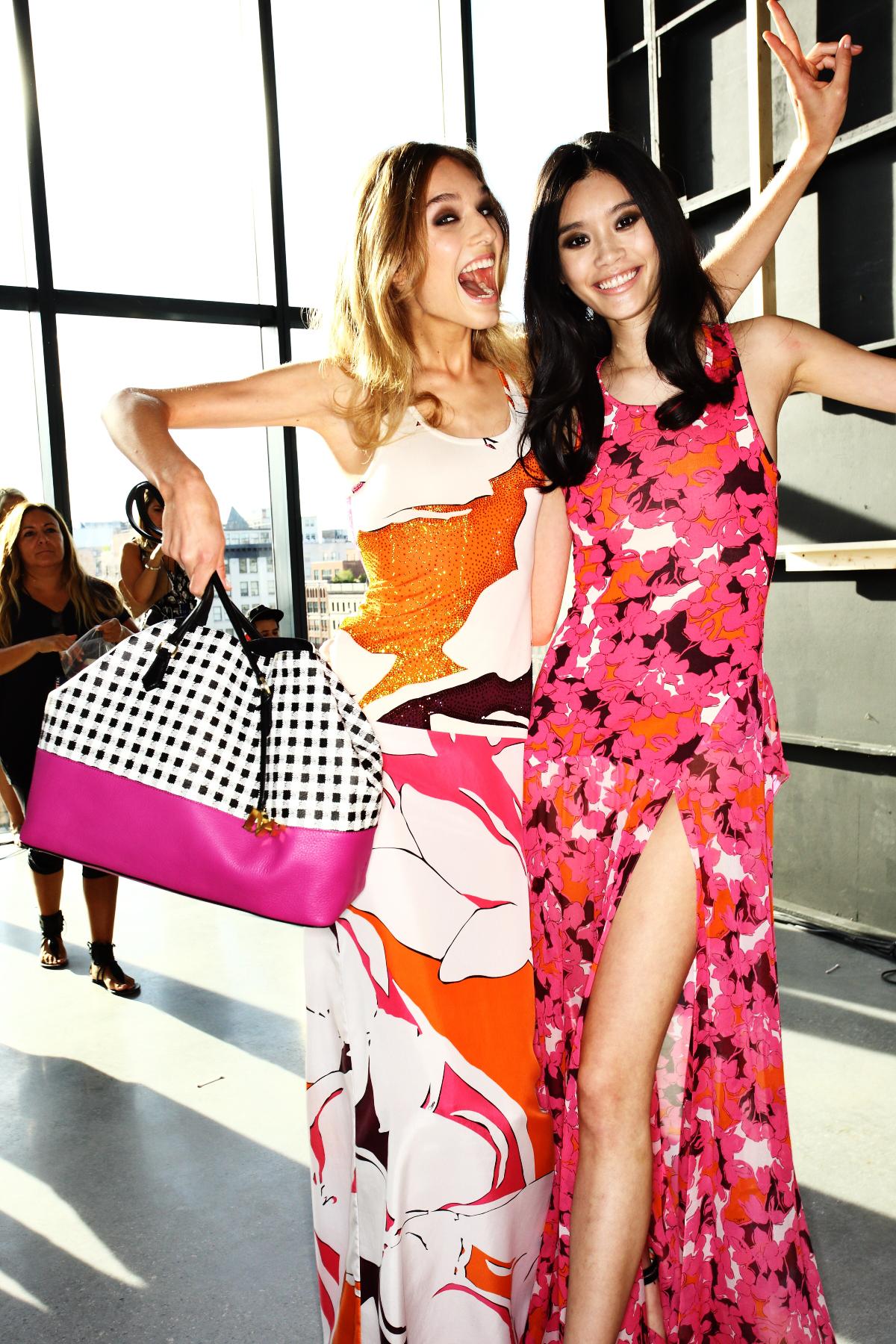 Diane Von Furstenberg SS15 Fashion Show New York Backstage