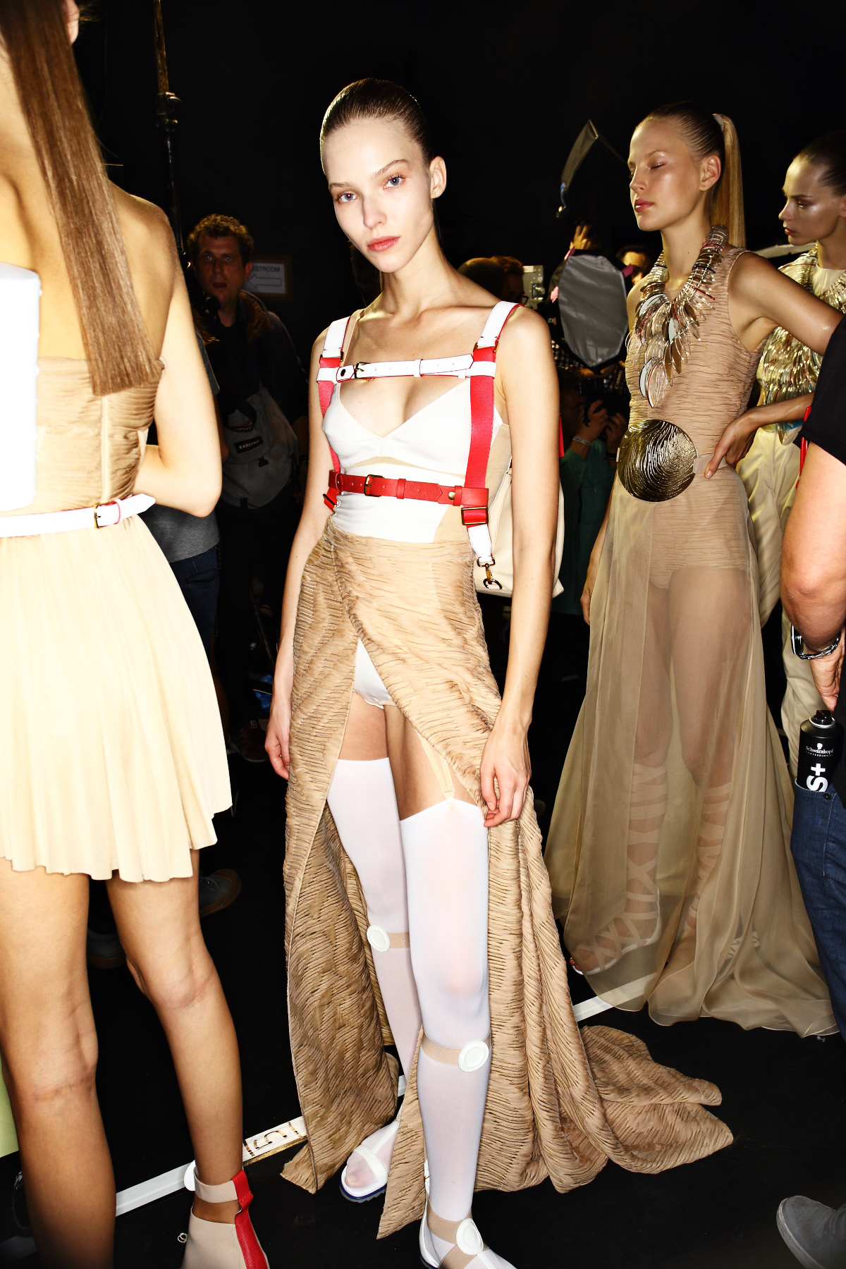 Vionnet SS14 Fashion Show Paris Backstage