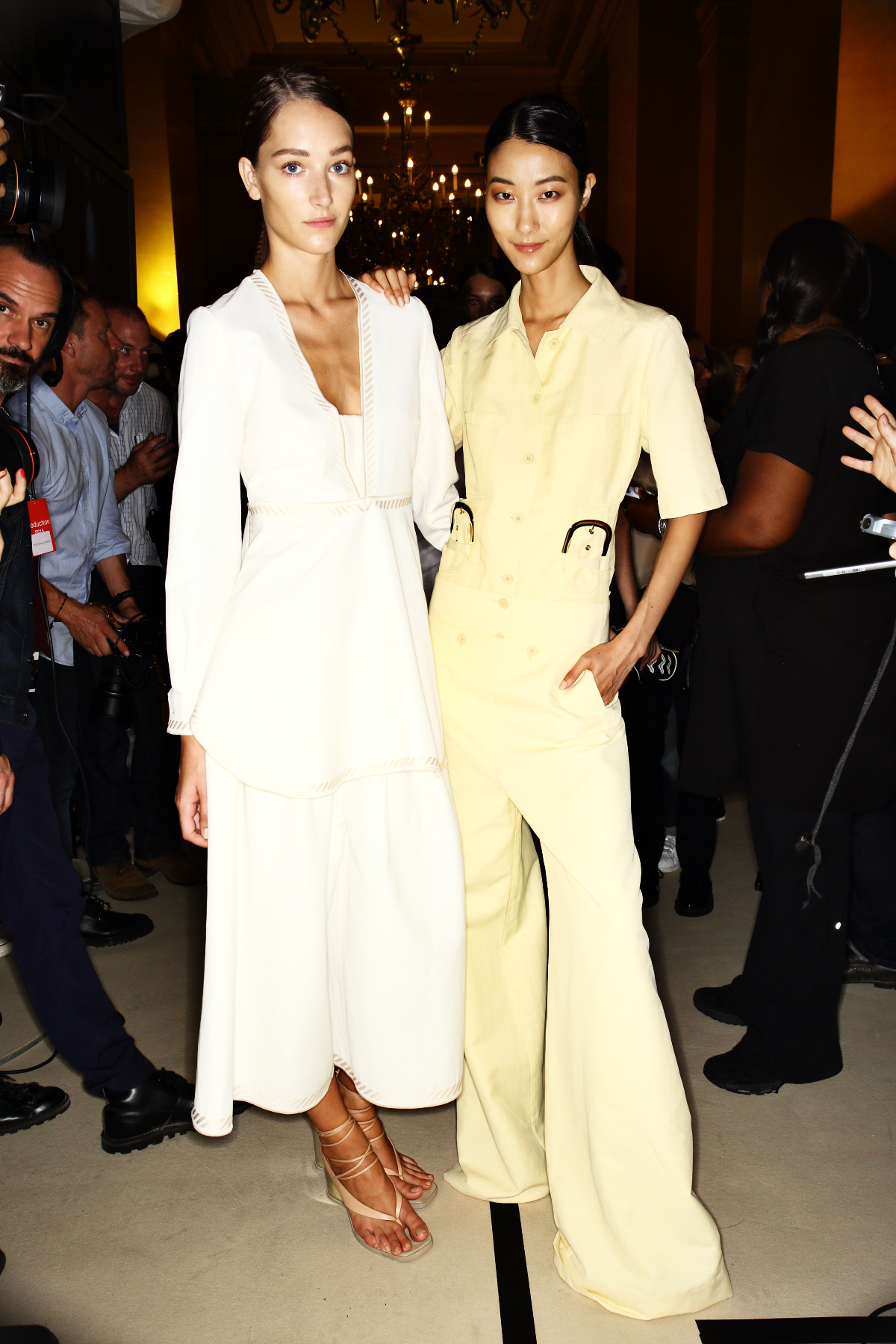 Stella McCartney SS15 Fashion Show Paris Backstage