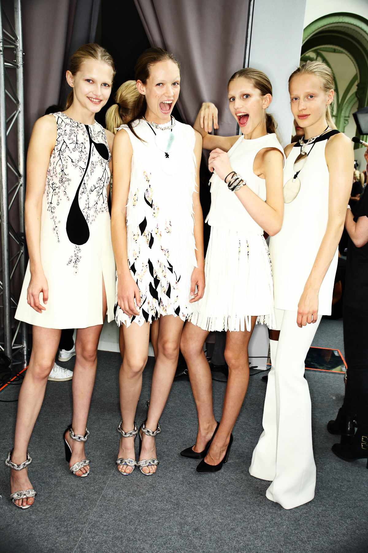 Giambattista Valli SS15 Fashion Show Paris Backstage