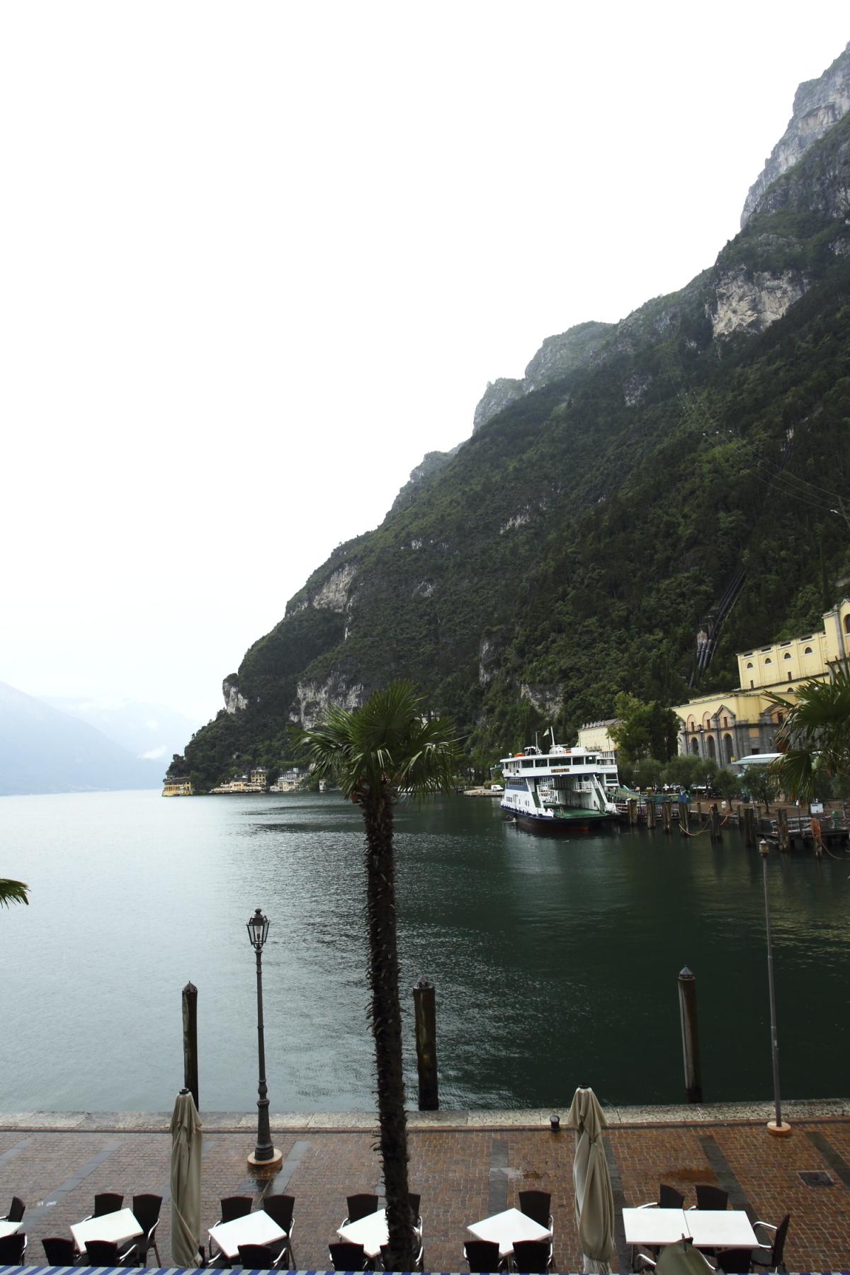 Leaving Riva Del Garda, Italy