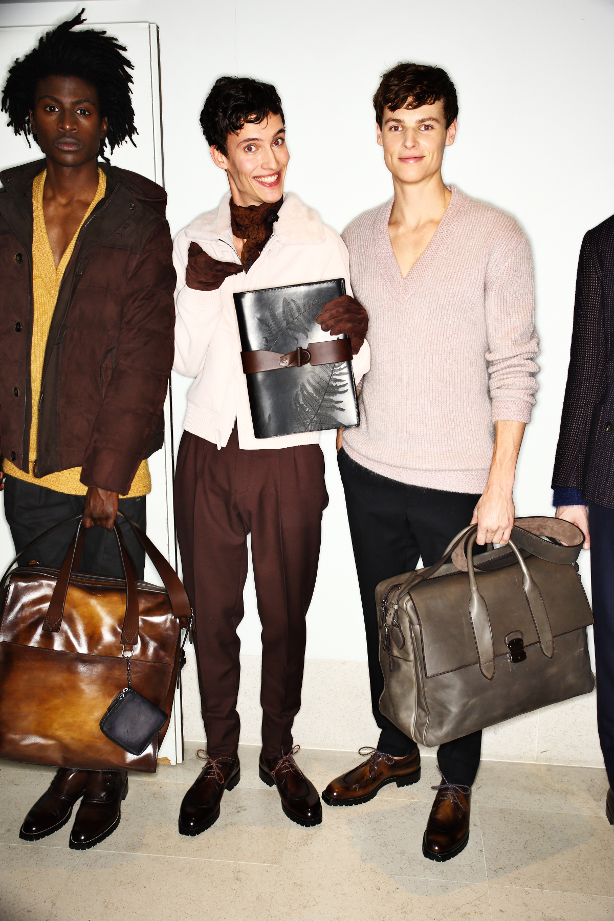Berluti AW1516 Men Fashion Show Paris Backstage