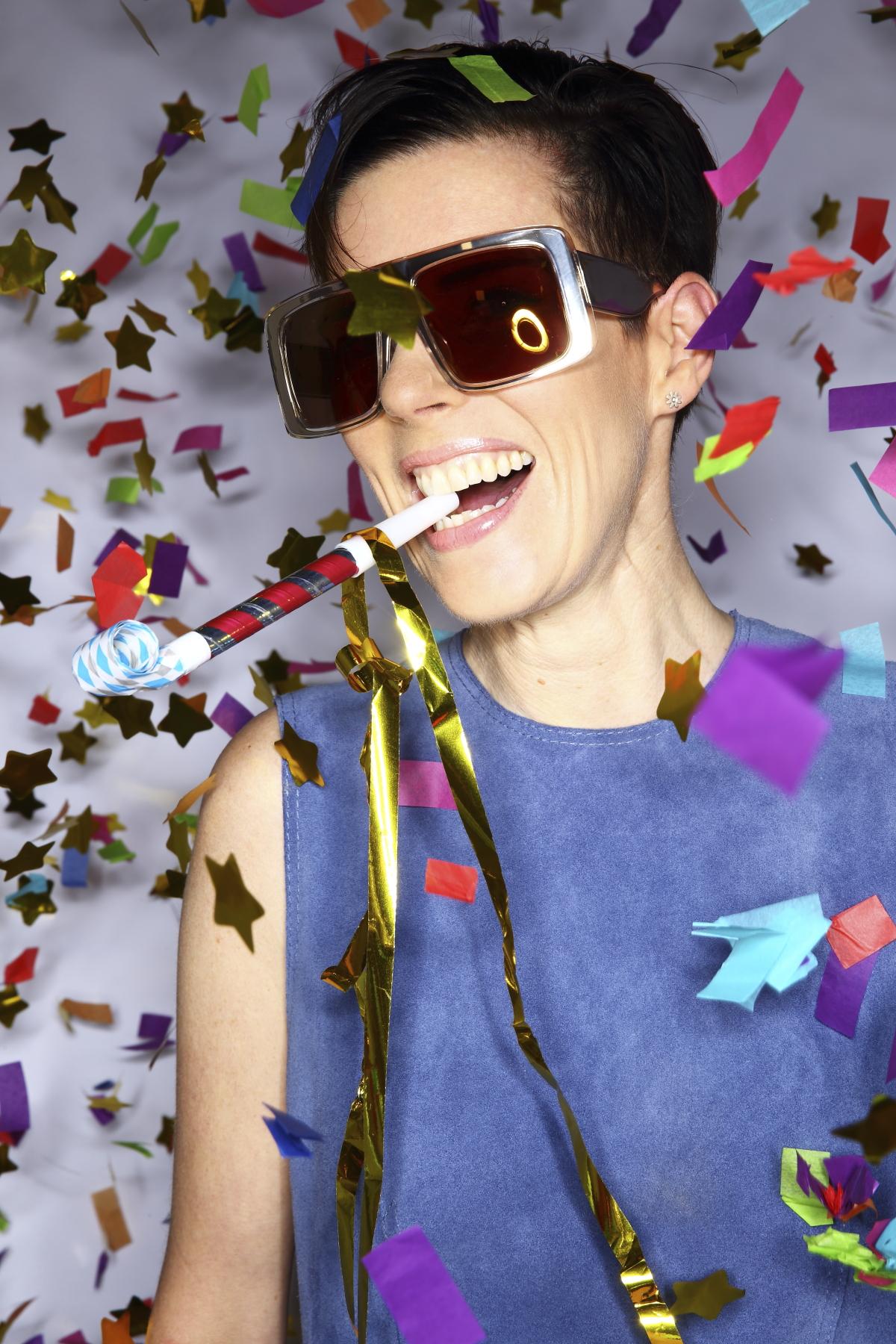 Karen Walker Glasses 10th Birthday Party