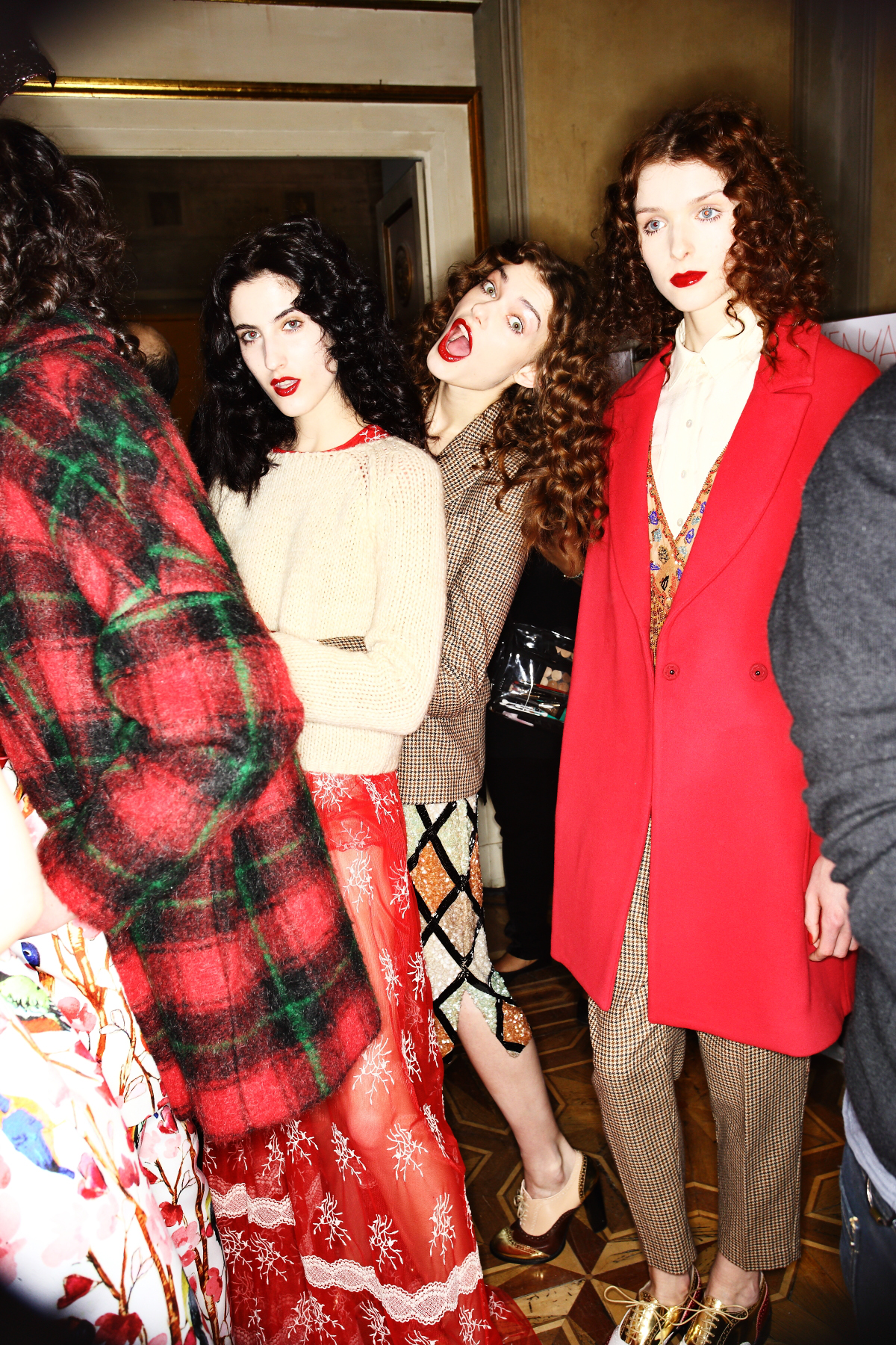 Blugirl AW1516 Fashion Show Milan Backstage