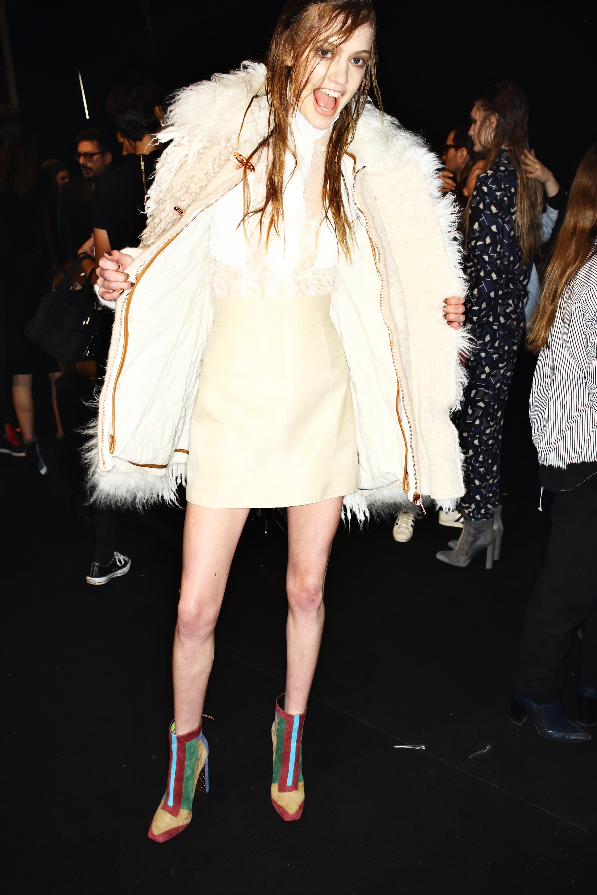 Just Cavalli AW1516 Fashion Show Milan Backstage