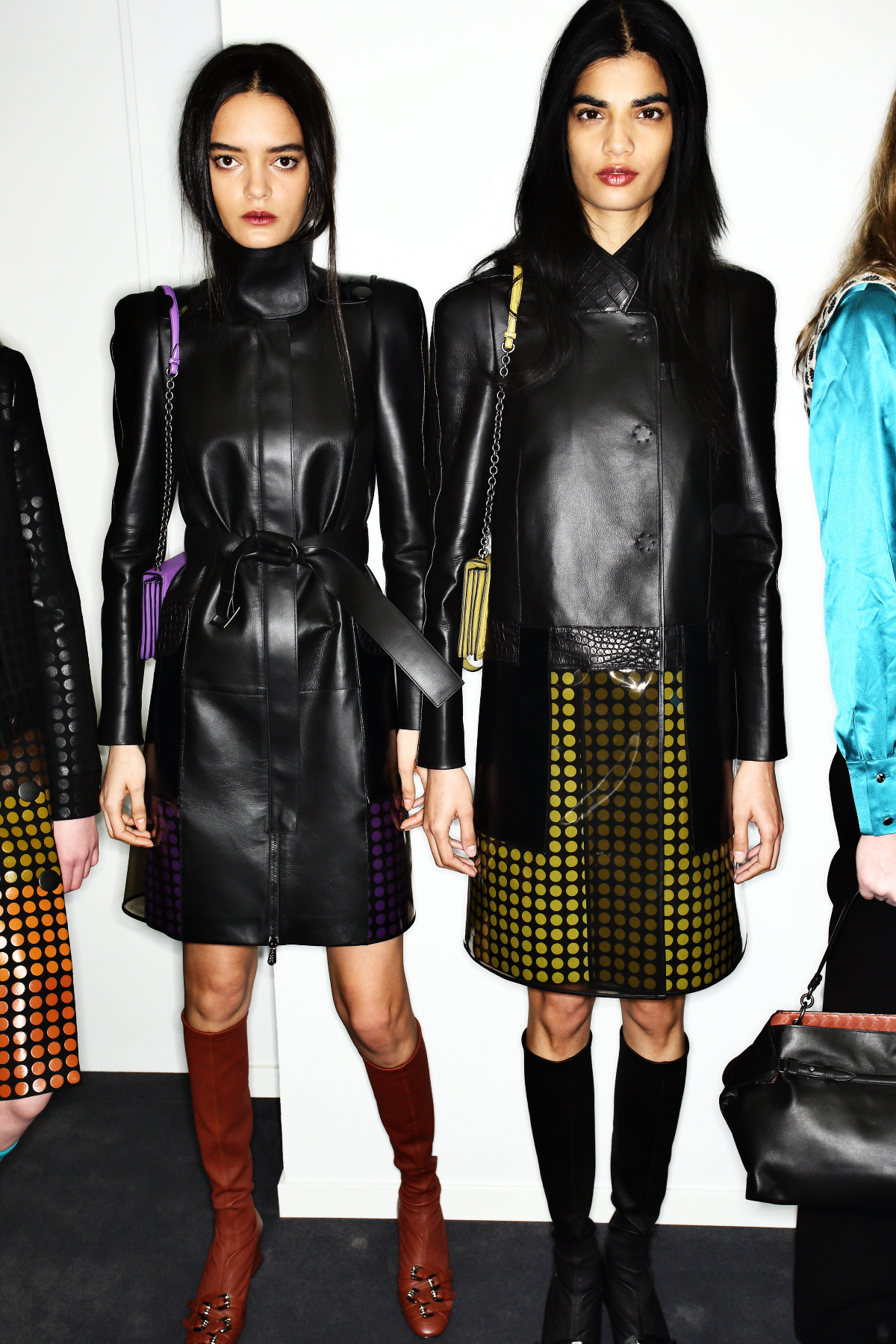 Bottega Veneta AW1516 Fashion Show Milan Backstage