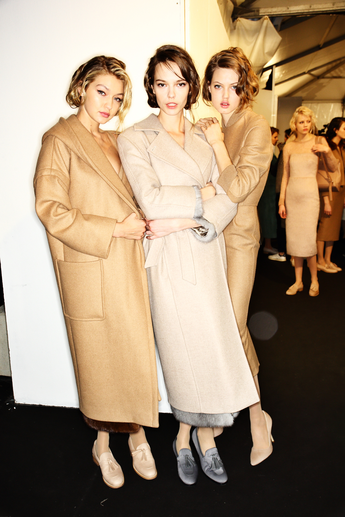 Max Mara AW1516 Fashion Show Milan Backstage