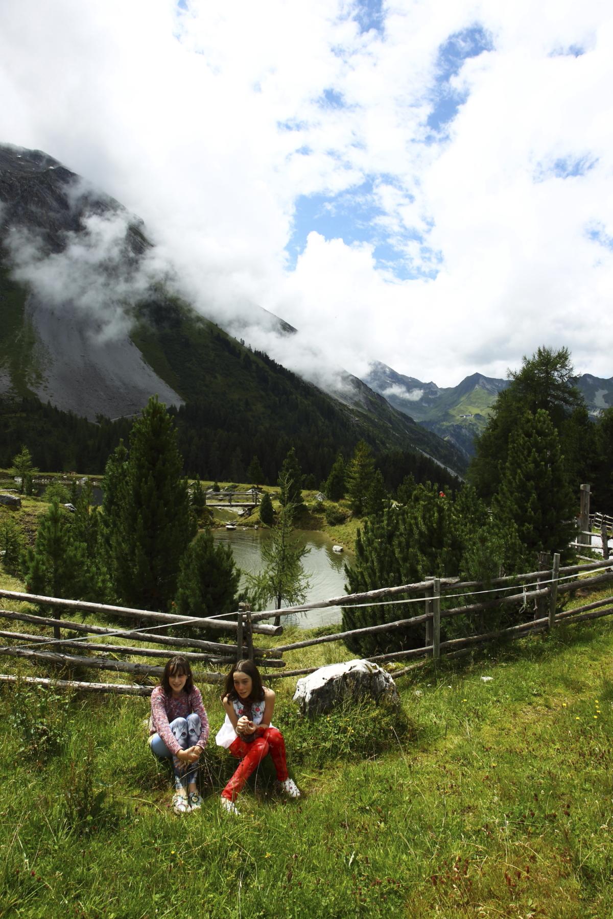 A walk up to Grieralm, Hintertux , Austria