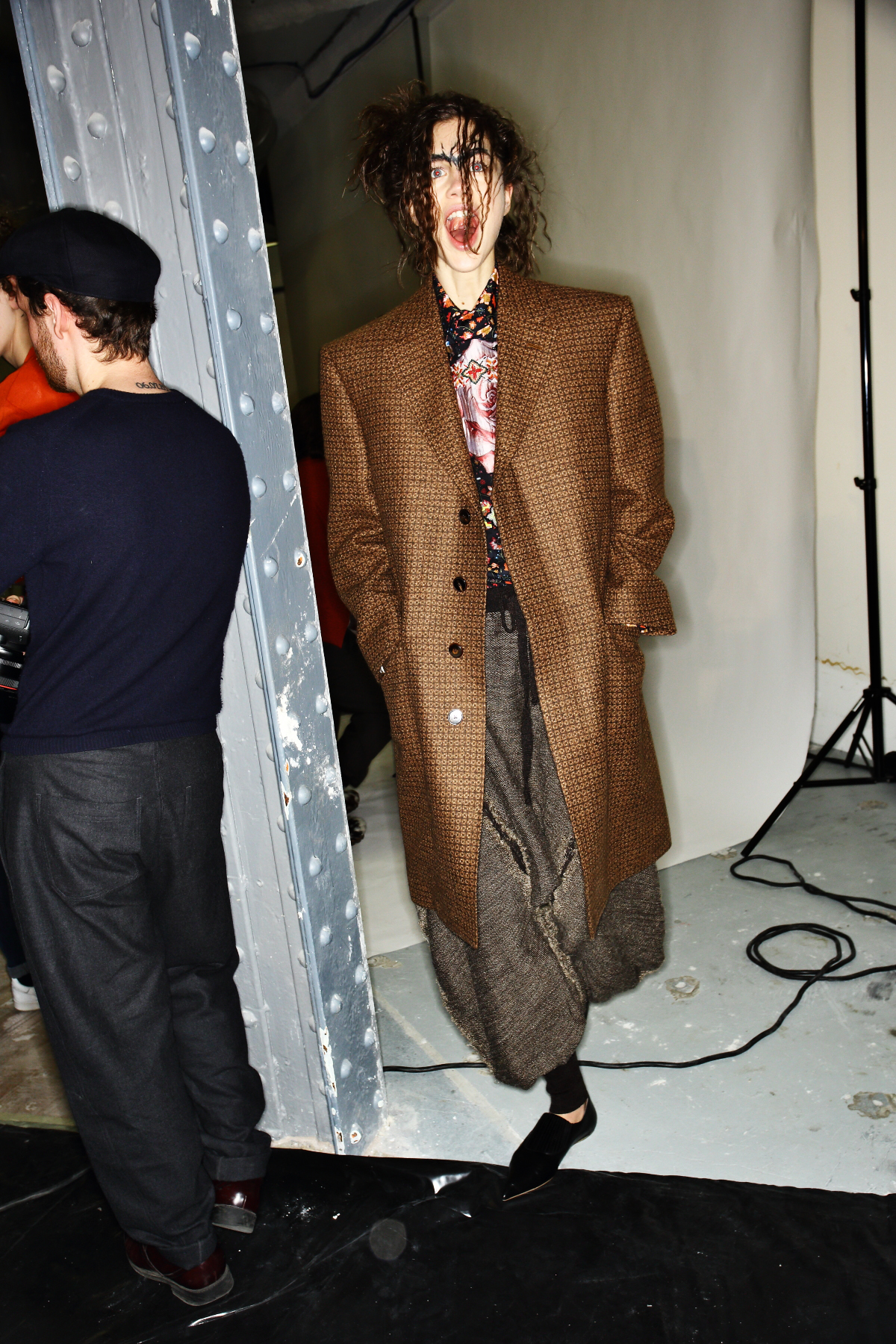 Vivienne Westwood Gold Label AW1516 Fashion Show Paris Backstage