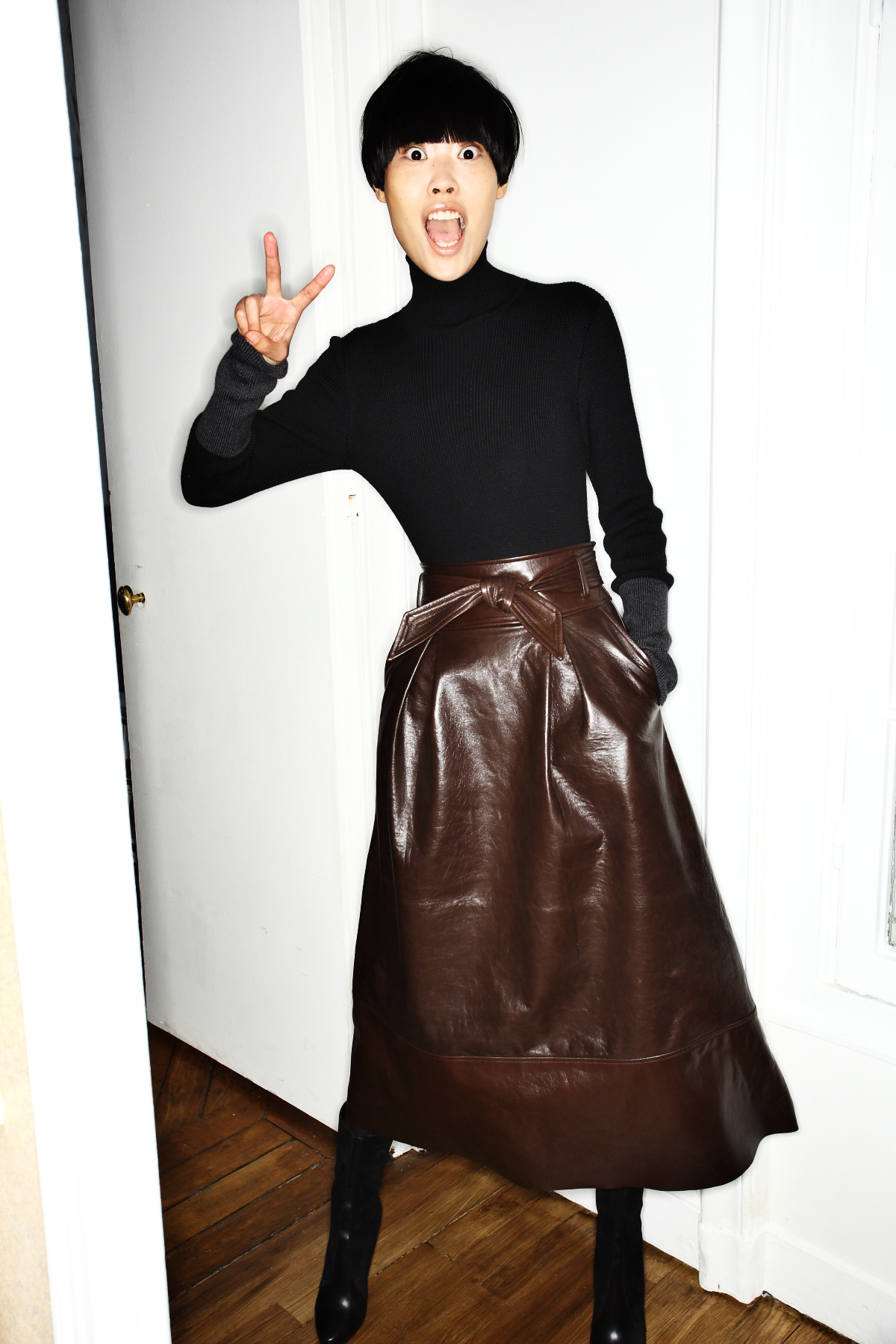 Martin Grant AW1516 Fashion Show Paris Backstage
