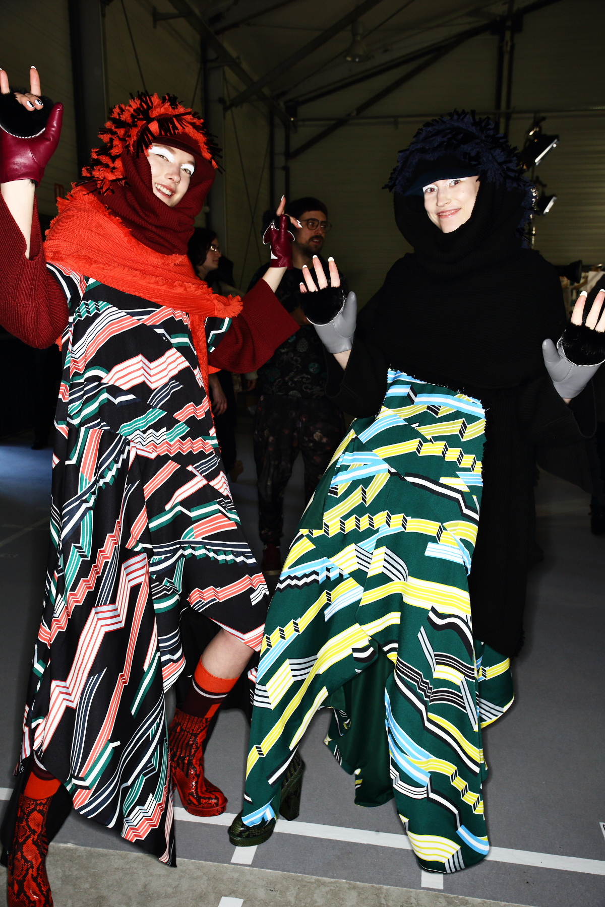 Kenzo AW1516 Fashion Show Paris Backstage