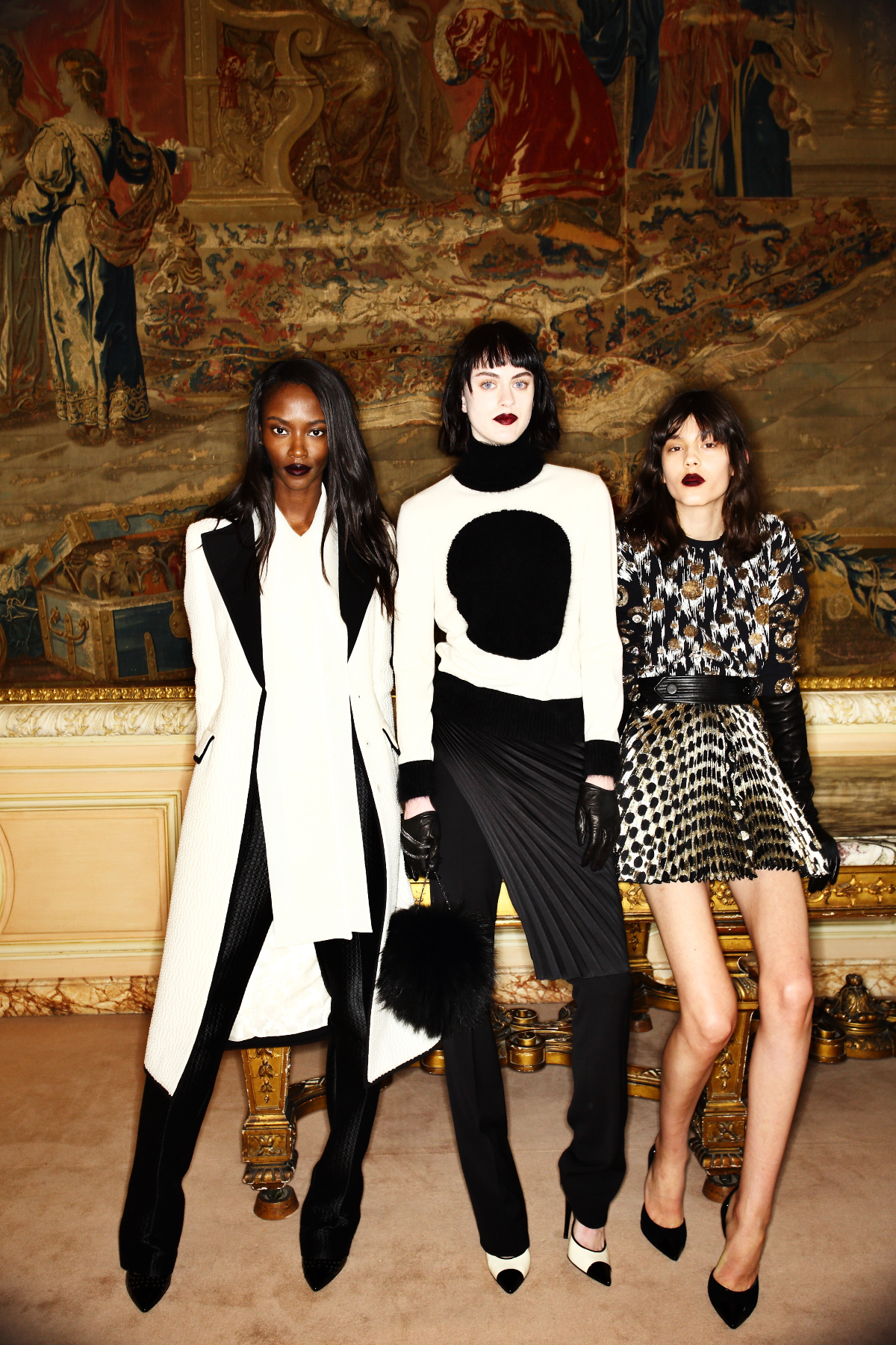 Emanuel Ungaro AW1516 Fashion Show Paris Backstage