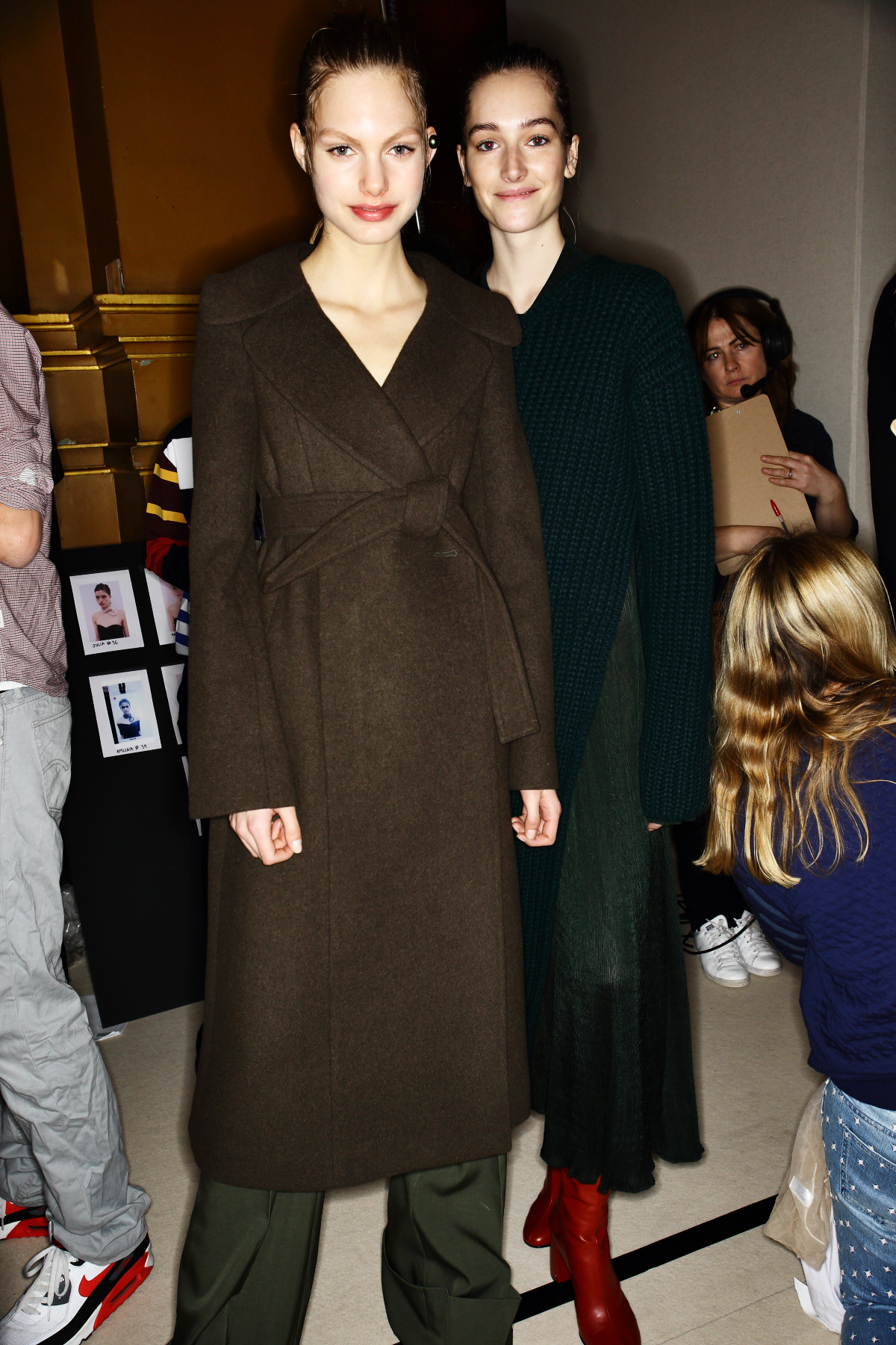 Stella McCartney AW1516 Fashion Show Paris Backstage