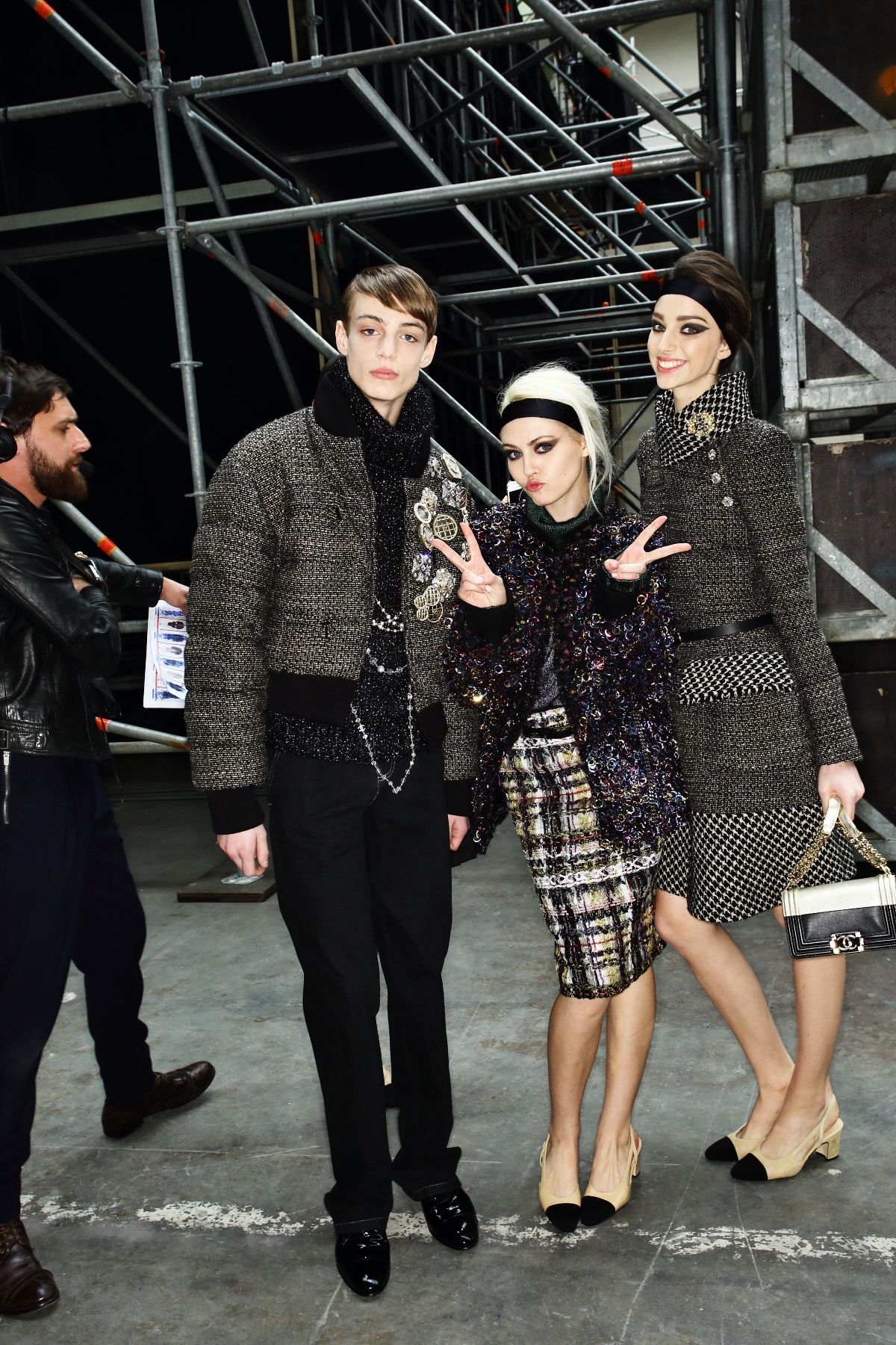 Chanel AW1516 Fashion Show Paris Backstage