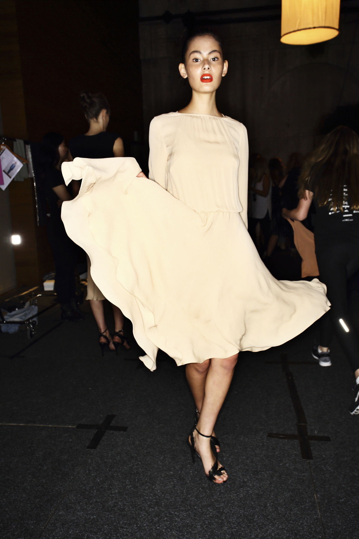 Bianca Spender SS1516 Fashion Show Sydney Backstage