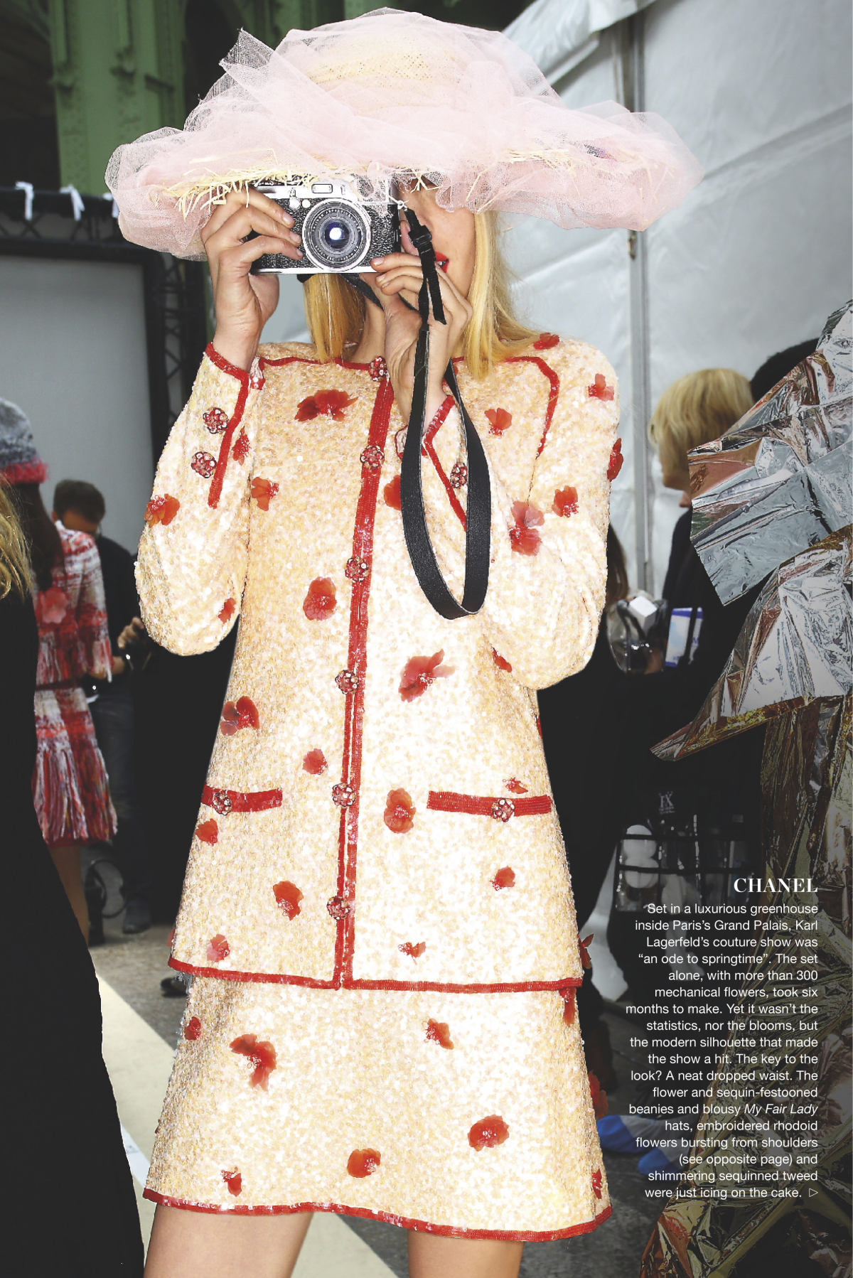 Haute Couture Spread in Marie-Claire Magazine