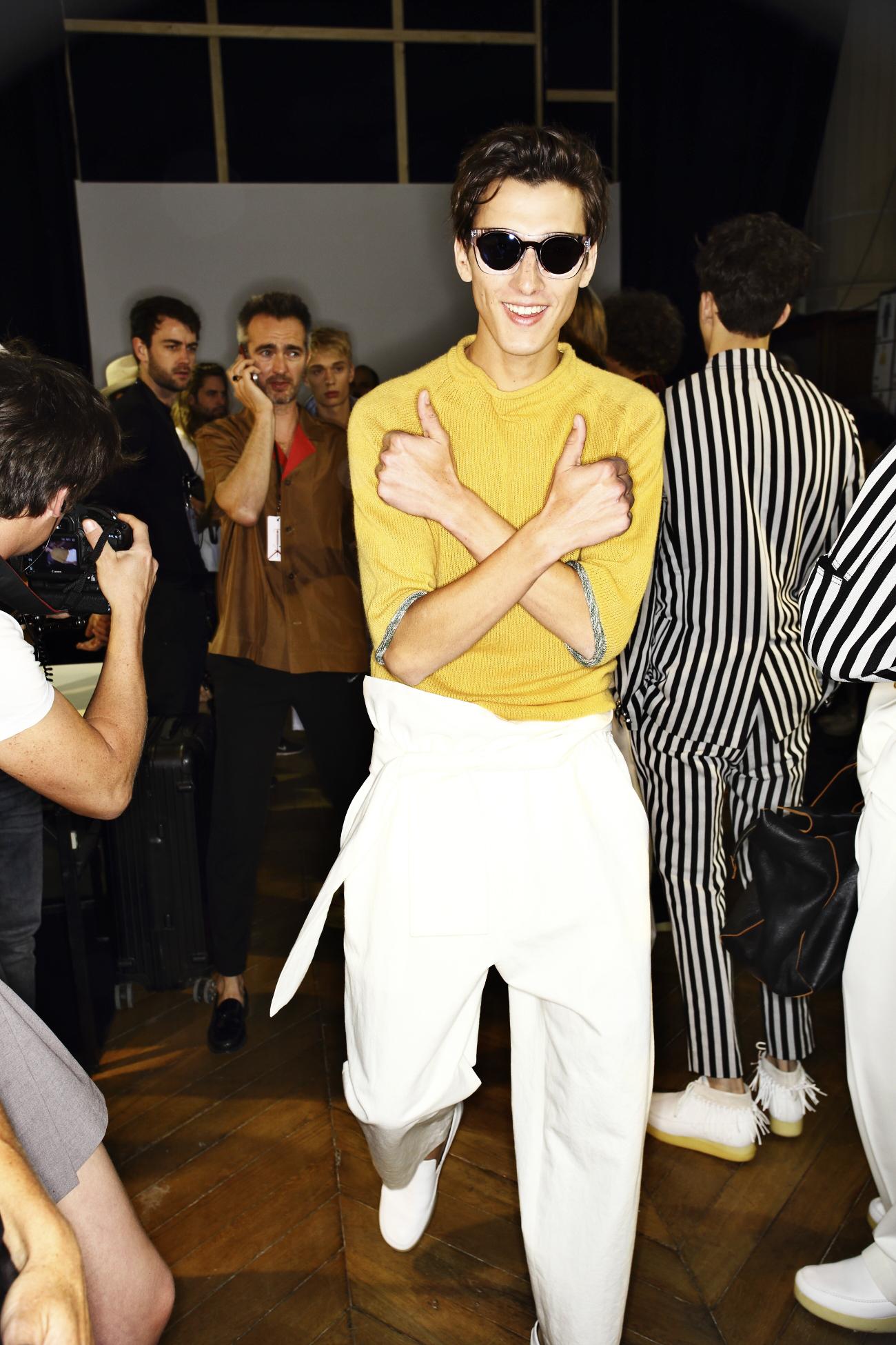 3.1 Phillip Lim SS16 Men Fashion Show Paris Backstage