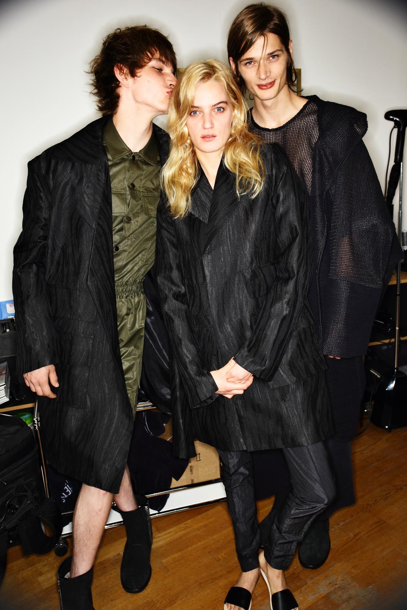 Strateas.Carlucci SS16 Men Fashion Show Paris Backstage