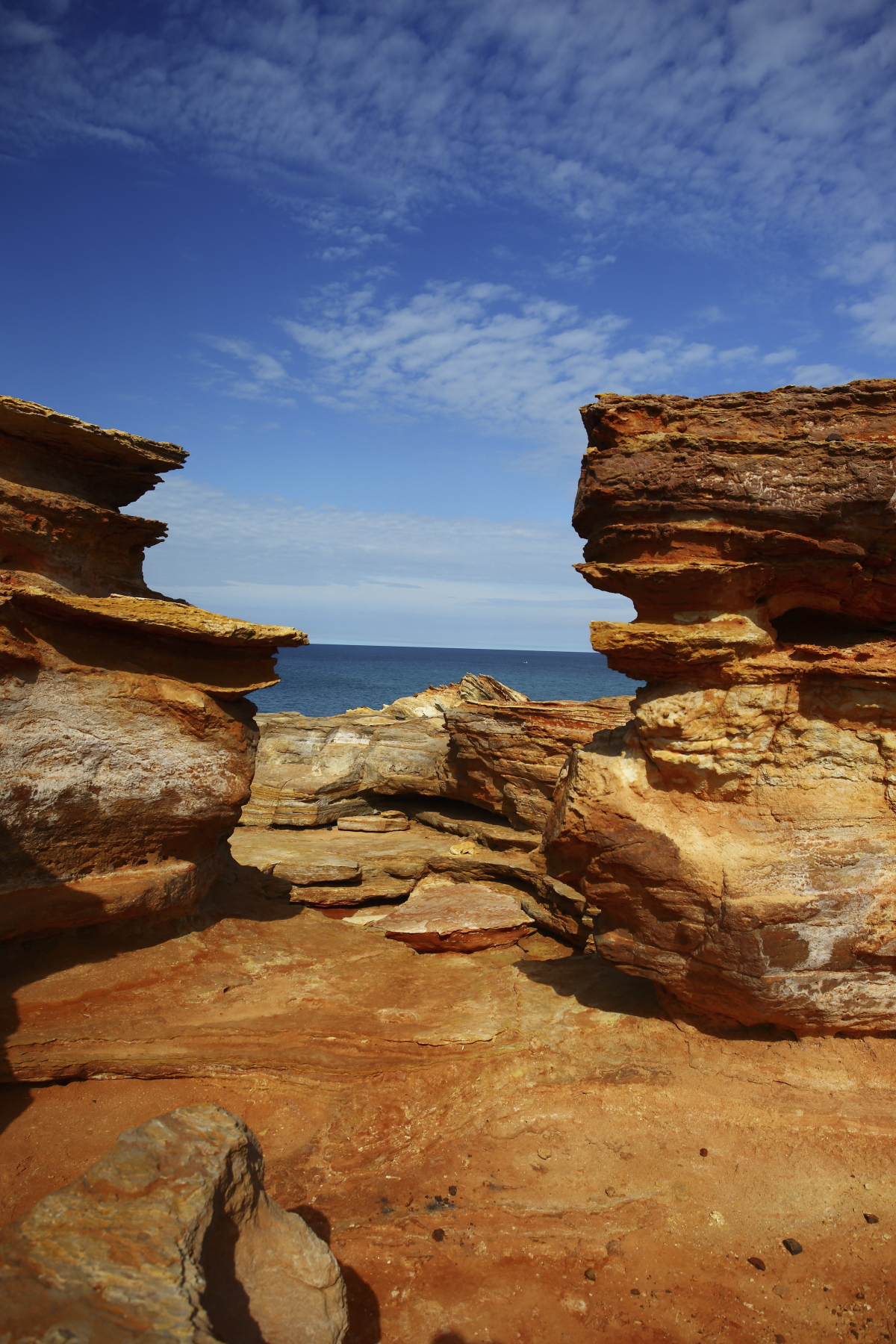 Gantheaume Point in Sunshine - Broome