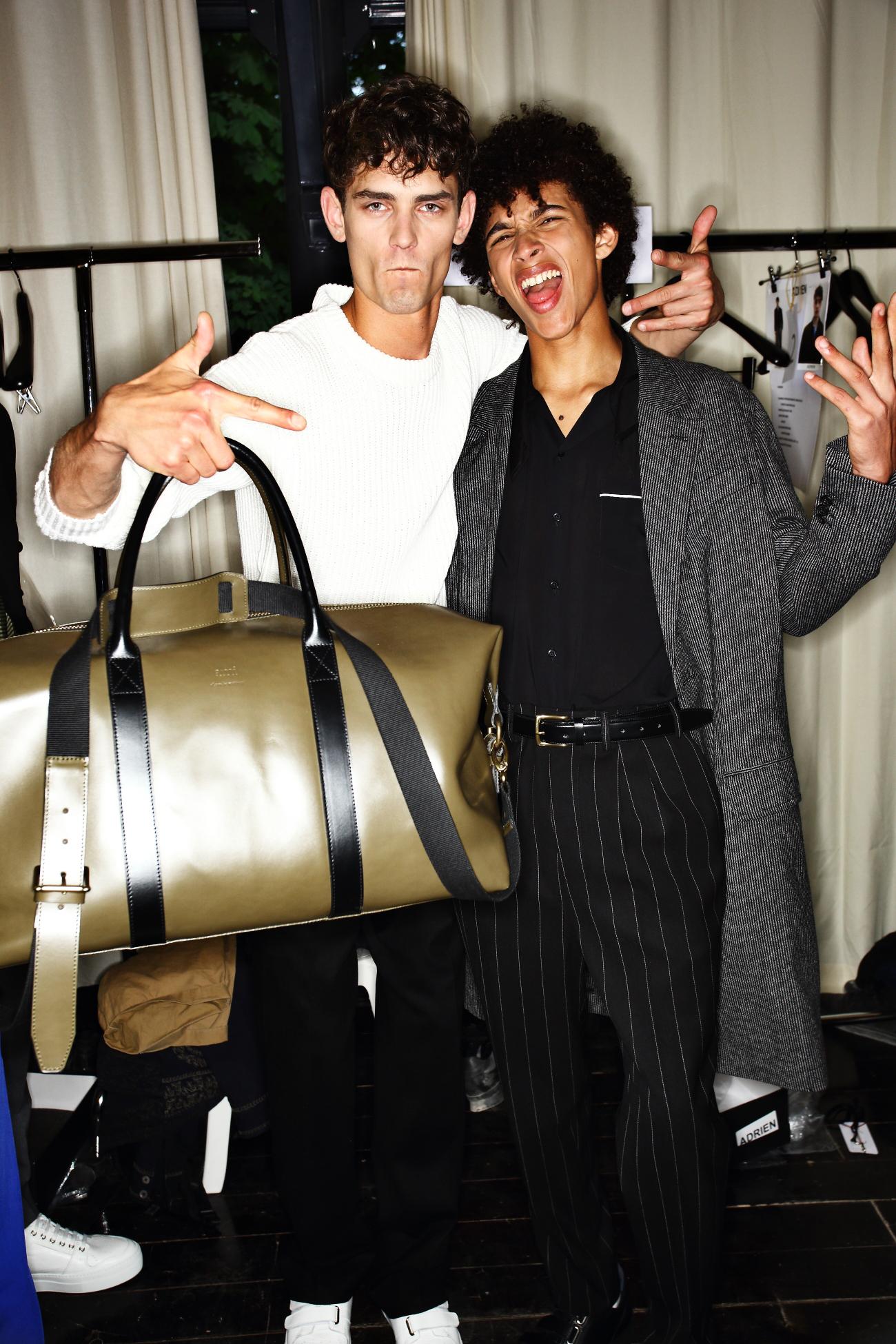 AMI - Alexandre Mattiussi SS16 Men Fashion Show Paris Backstage