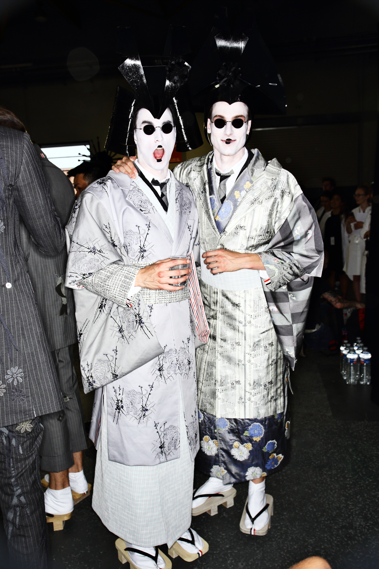 Thom Browne SS16 Men Fashion Show Paris Backstage