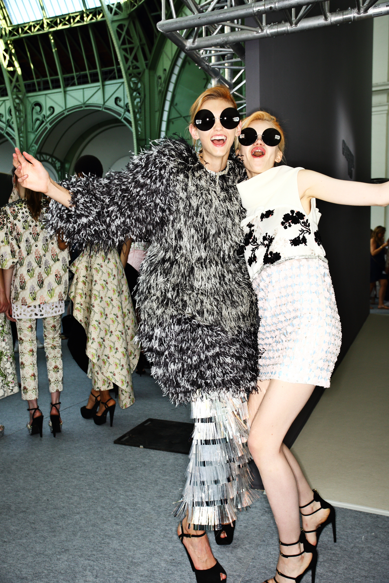 Giambattista Valli Fall 15 Haute Couture Show Paris Backstage