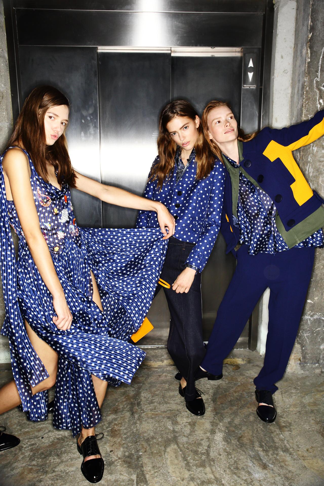 Galliano SS16 Fashion Show Paris Backstage