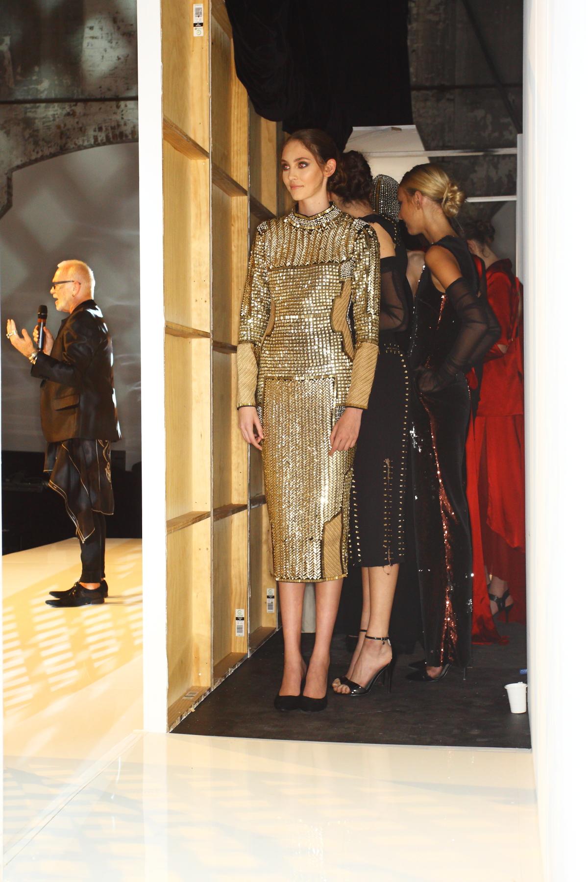 Fashion Design Studio Runway 2015 Backstage Part 1