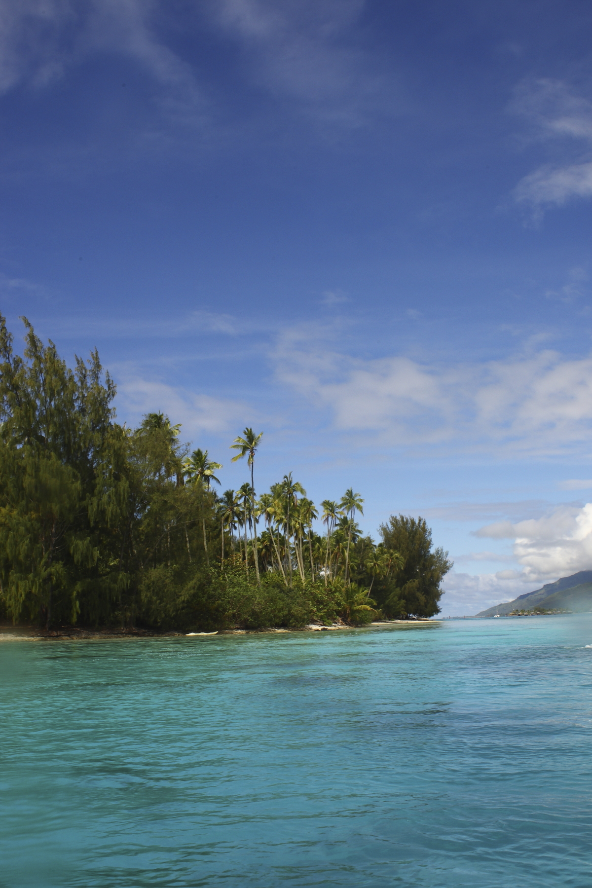 Run down Club Med in Tahiti