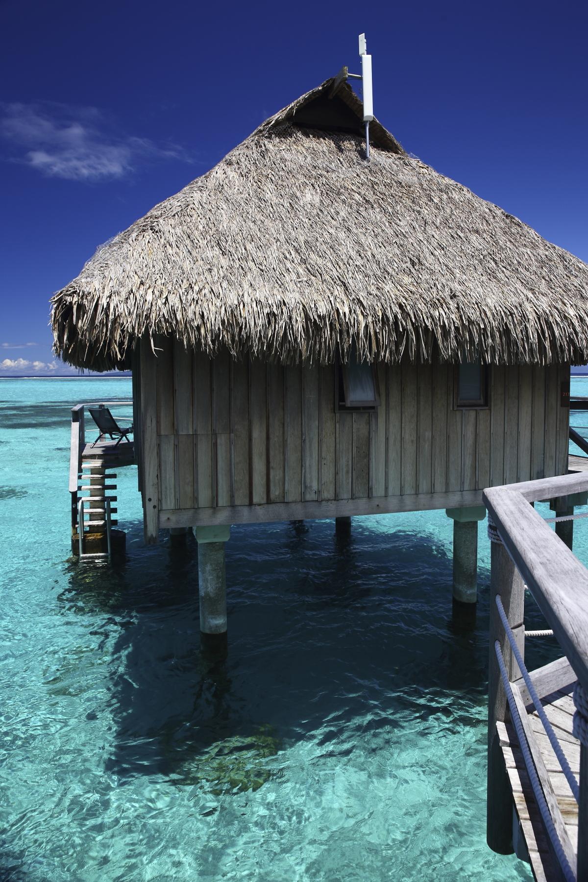 Sofitel's Overwater Bungalow - Tahiti