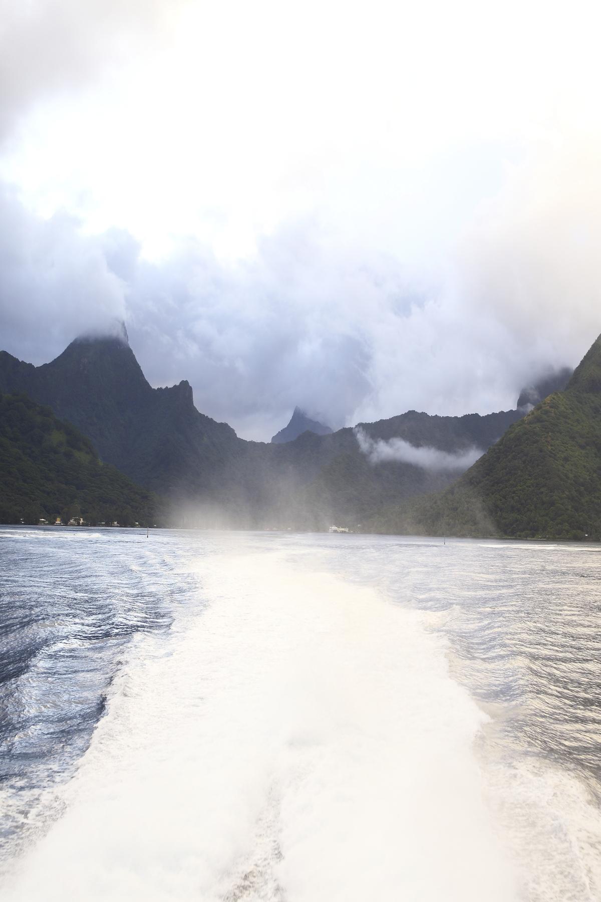 Farewell Moorea, Tahiti