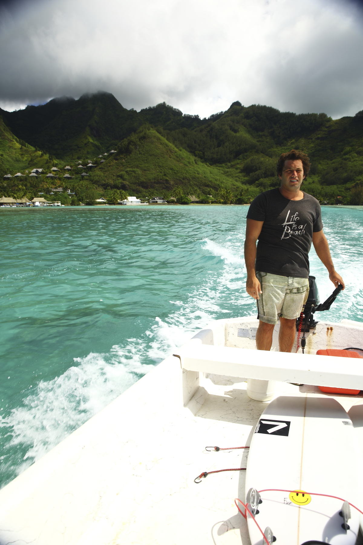 Typical Day in Paradise - Tahiti - includes live sharks