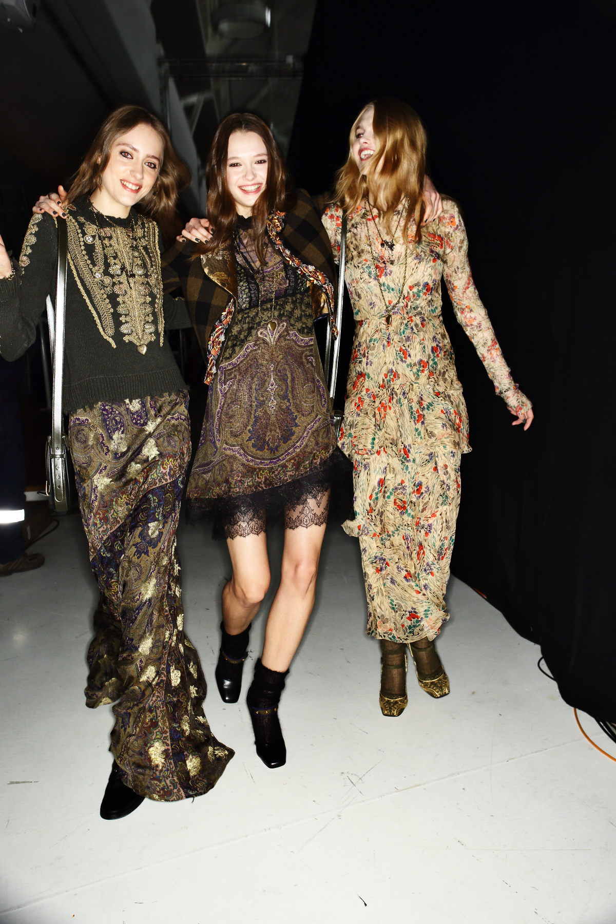 Etro AW1617 Fashion Show Milan Backstage
