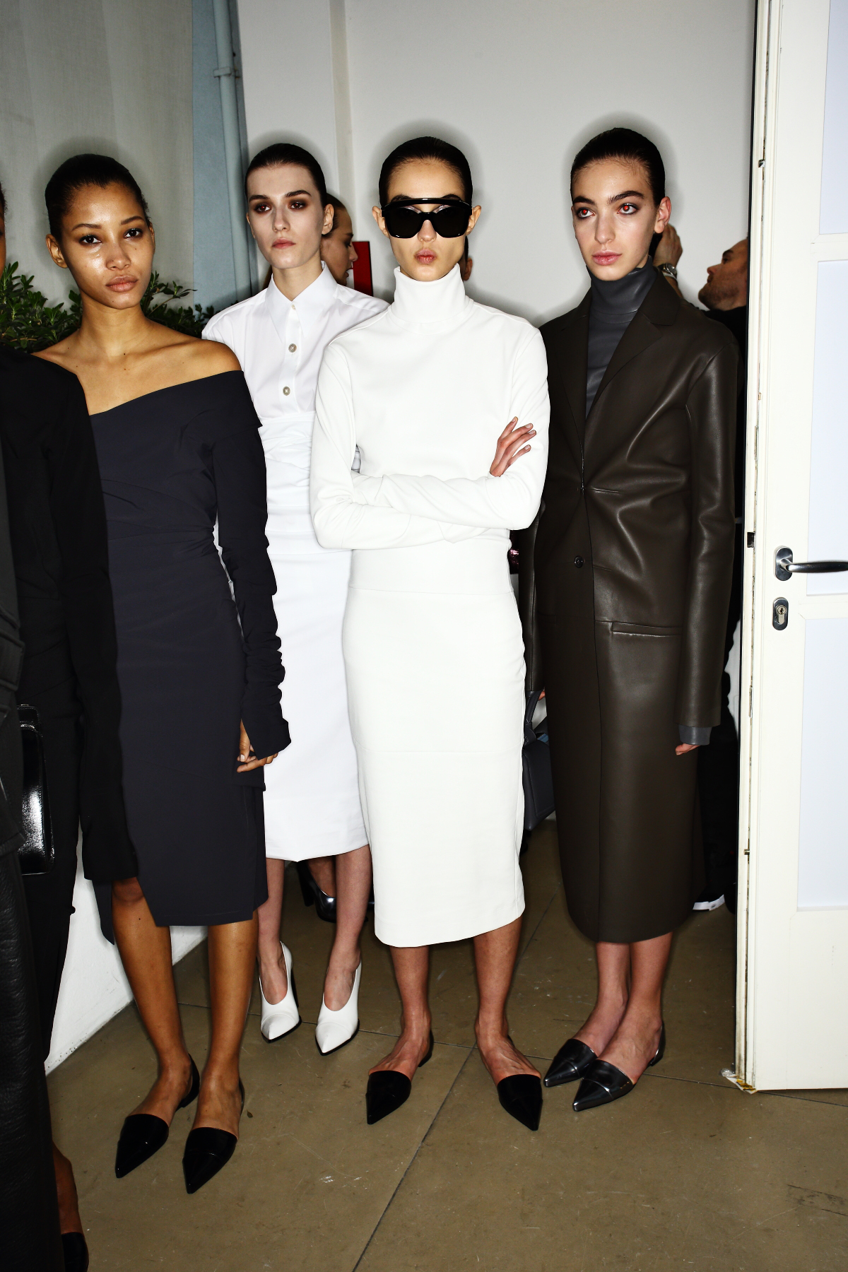 Jil Sander AW1617 Fashion Show Milan Backstage