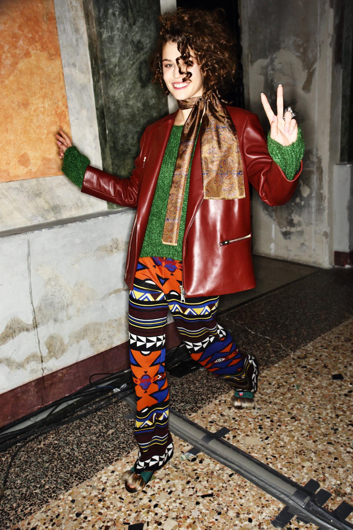 Stella Jean AW1617 Fashion Show Milan Backstage