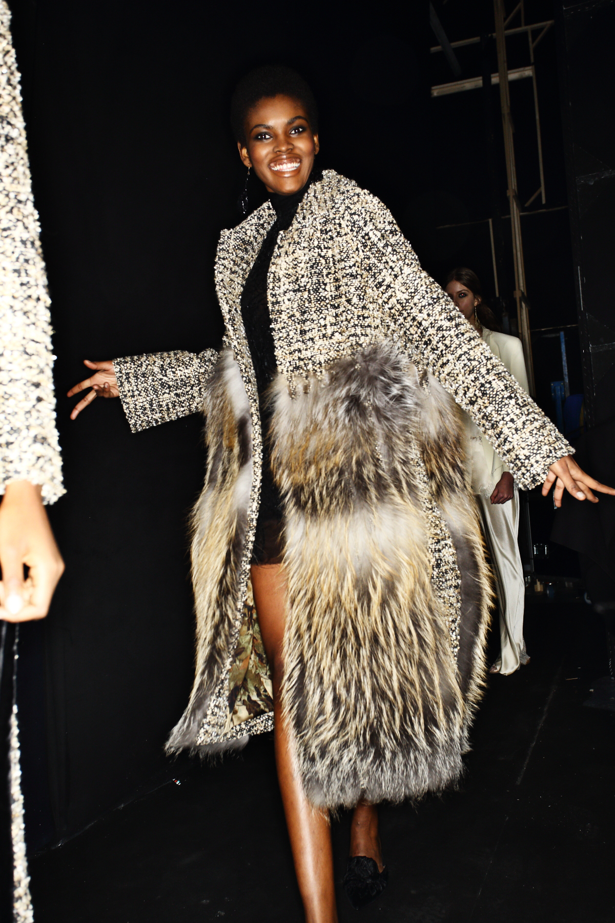 Alberta Ferretti AW1617 Fashion Show Milan Backstage