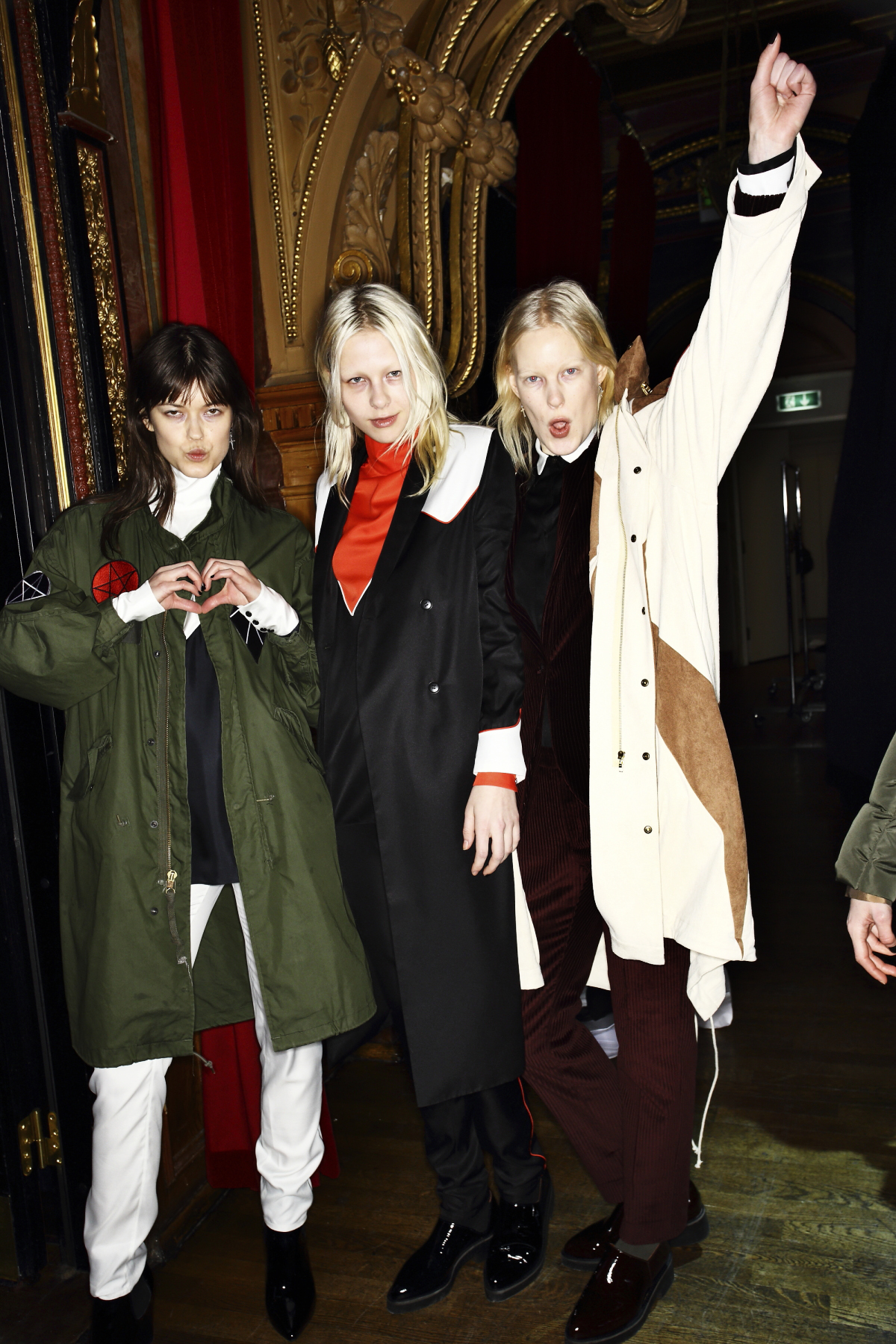 Whyred AW1617 Fashion show at Berns, Stockholm Backstage