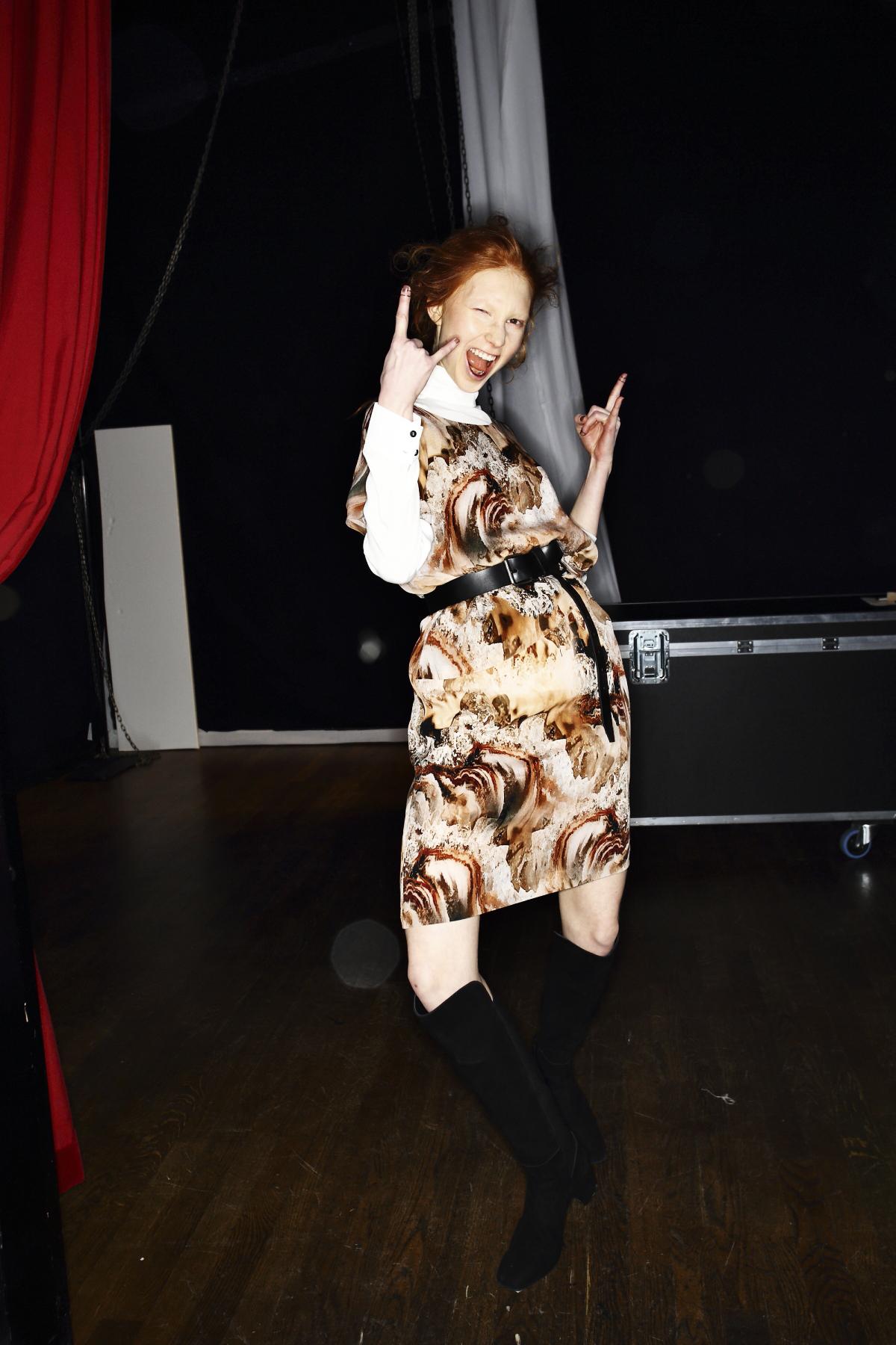 Valerie AW1617 Fashion Show at Berns Stockholm Backstage